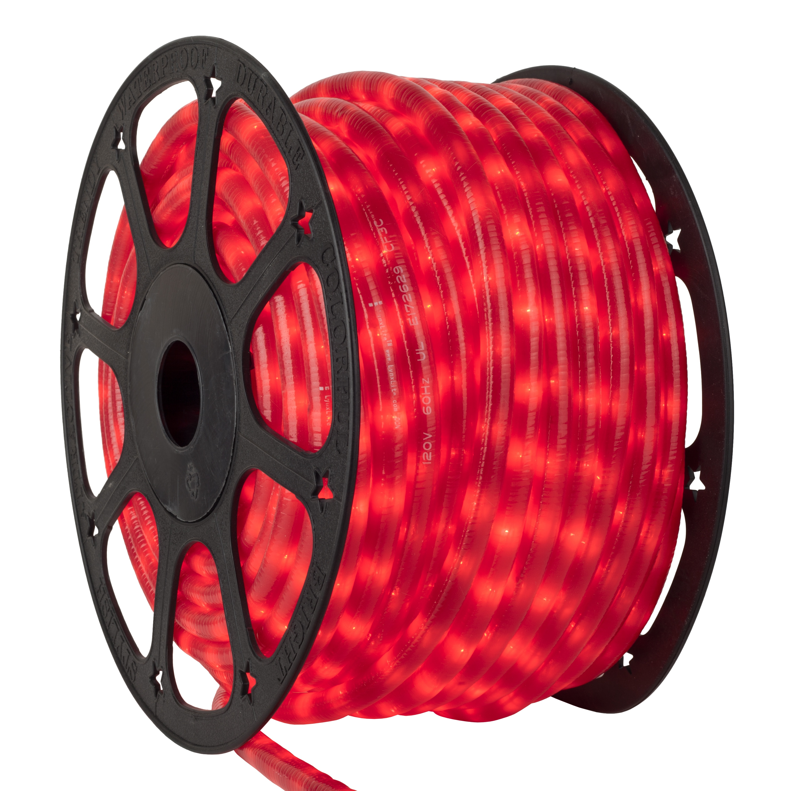 Pearl Red Rope Light Spool