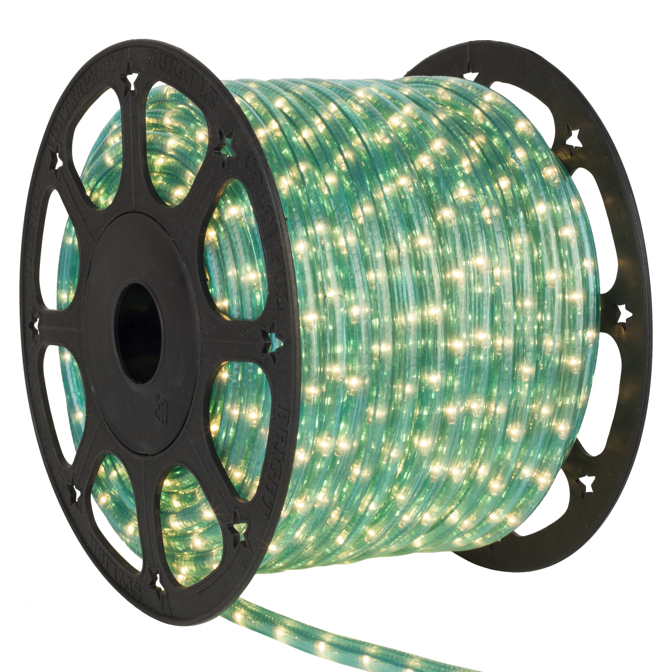 Aqua Blue Rope Light Spool
