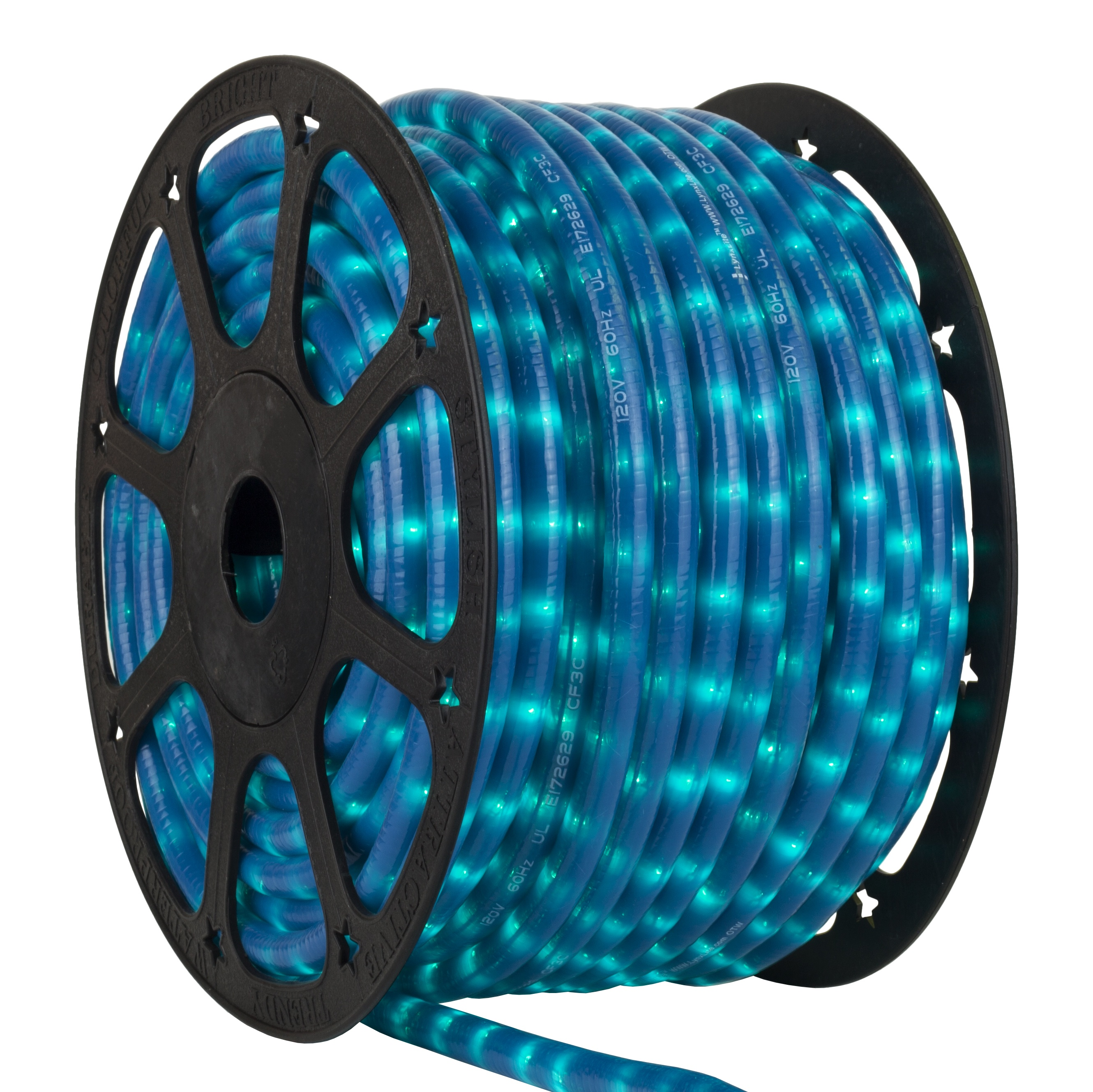 Pearl Blue Rope Light Spool