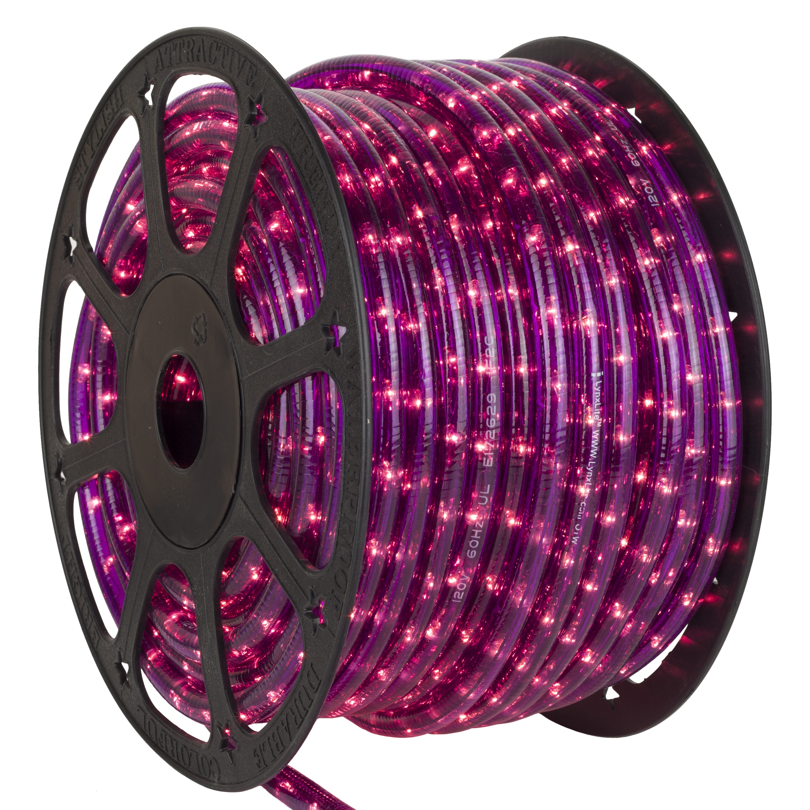 Purple Rope Light 12V Spool
