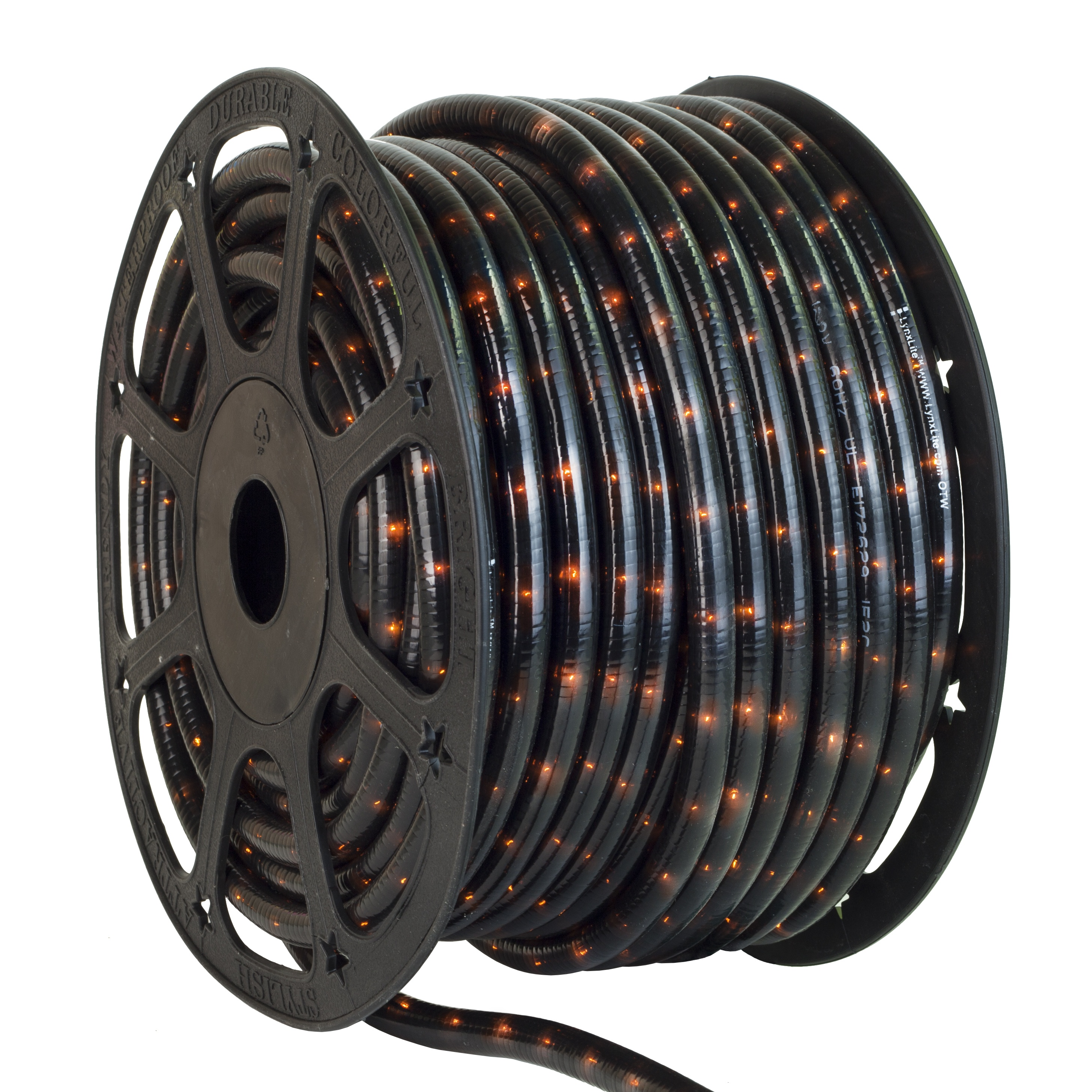 Black Rope Light Spool
