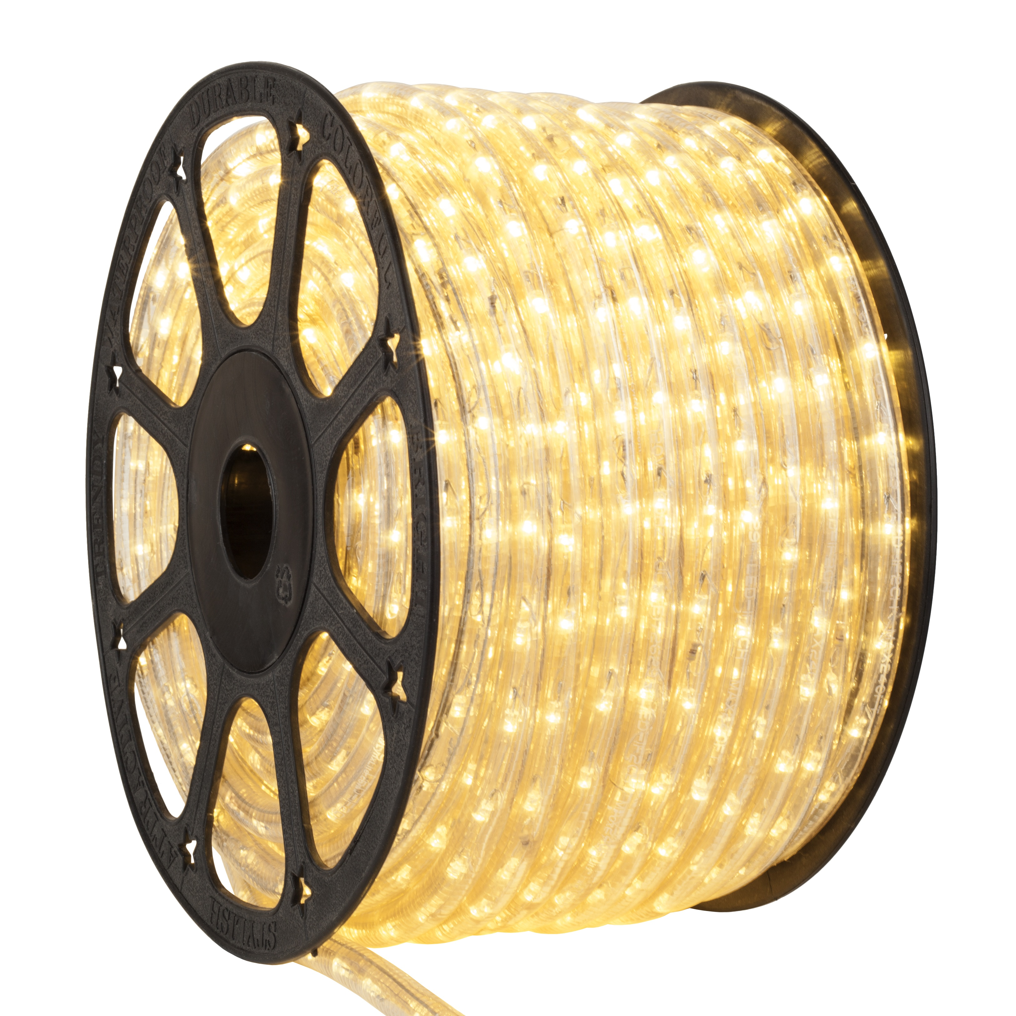 Champagne LED Rope Light Spool