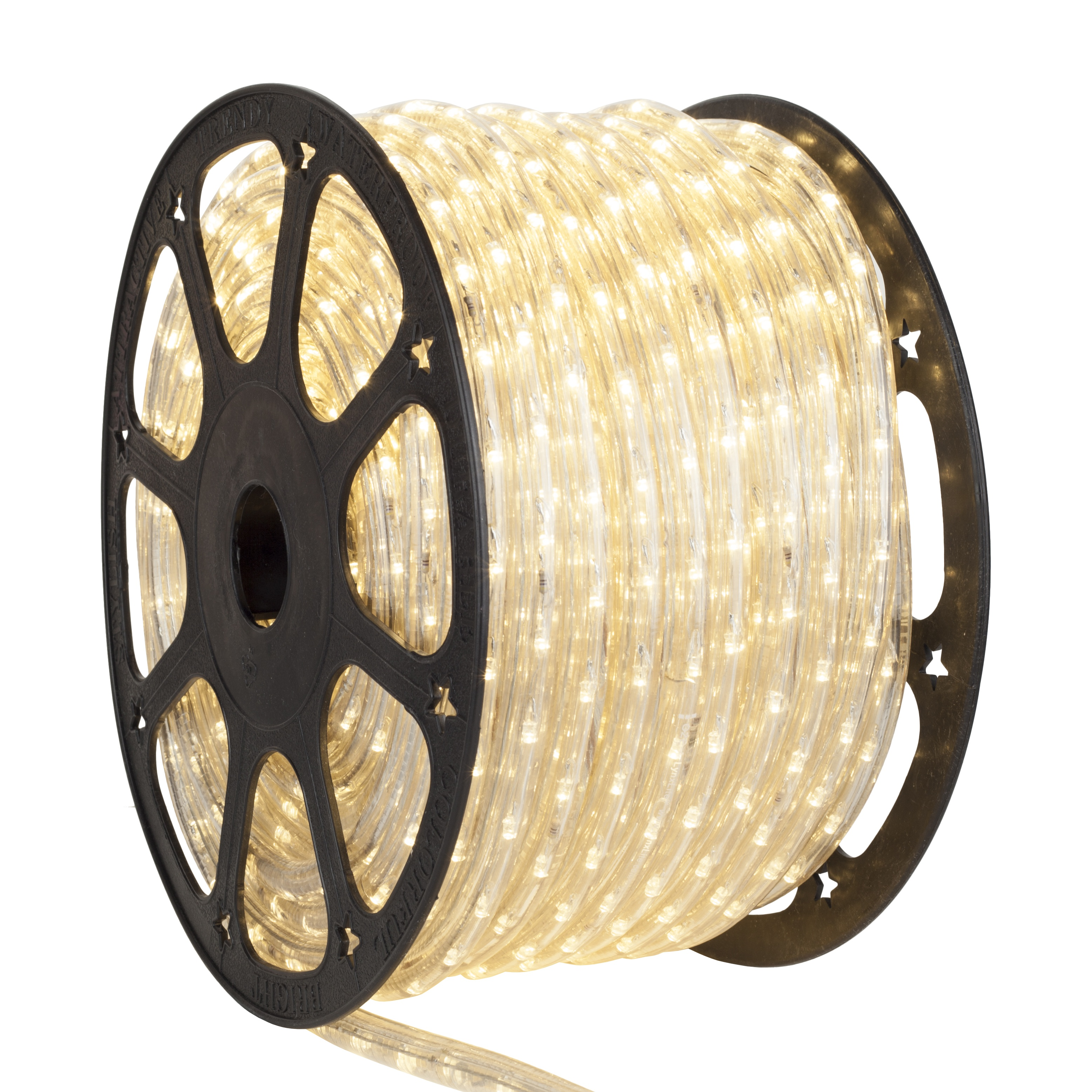 Antique White LED Rope Light Spool