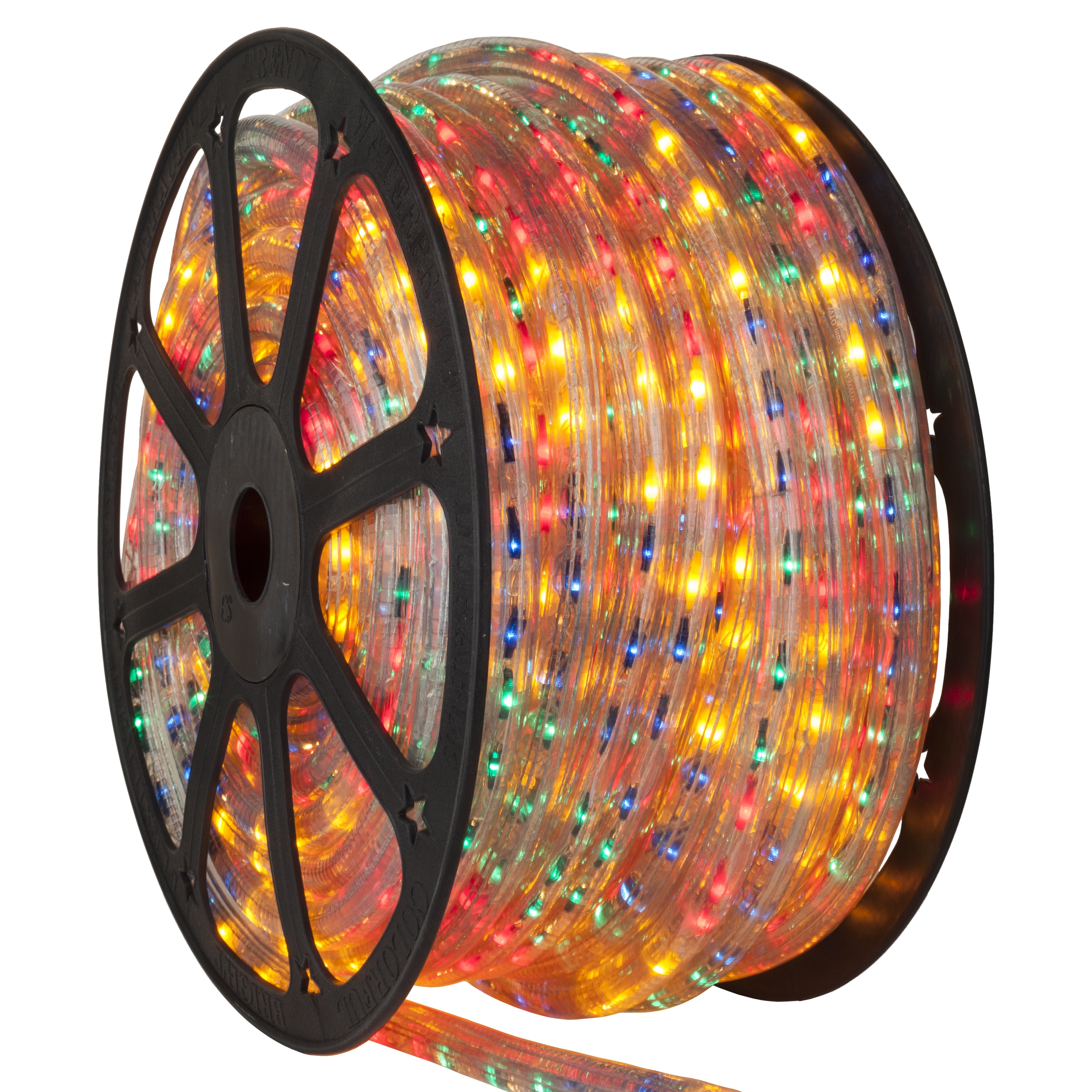 Multicolored Rope Light Spool