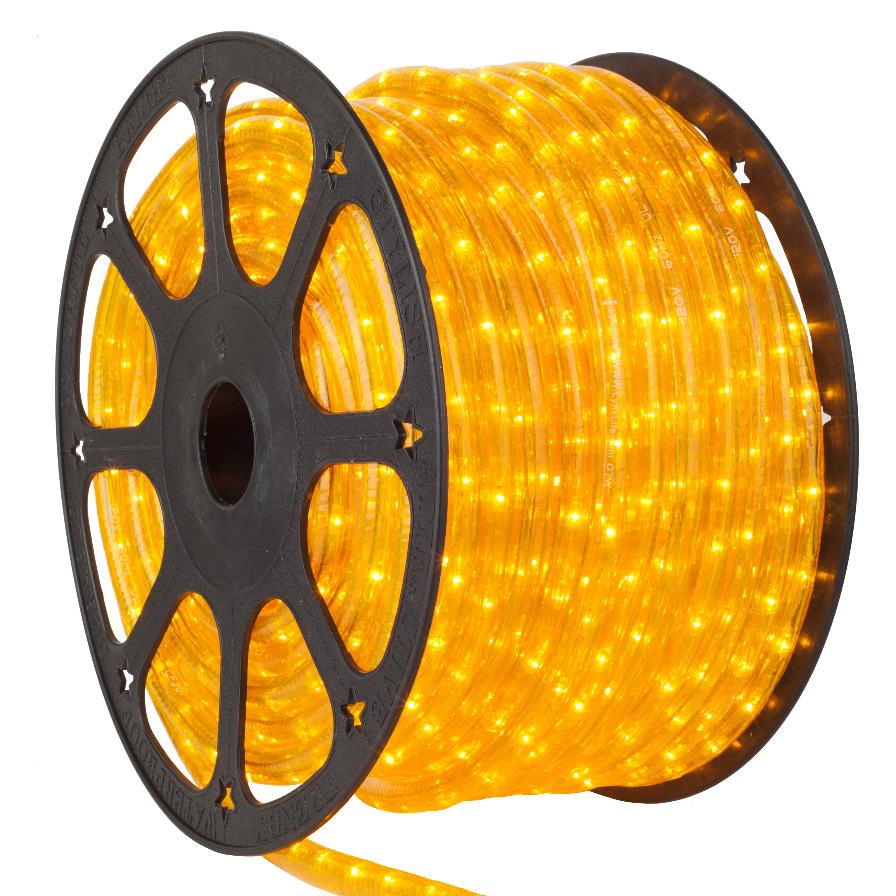 Yellow Rope Light Spool
