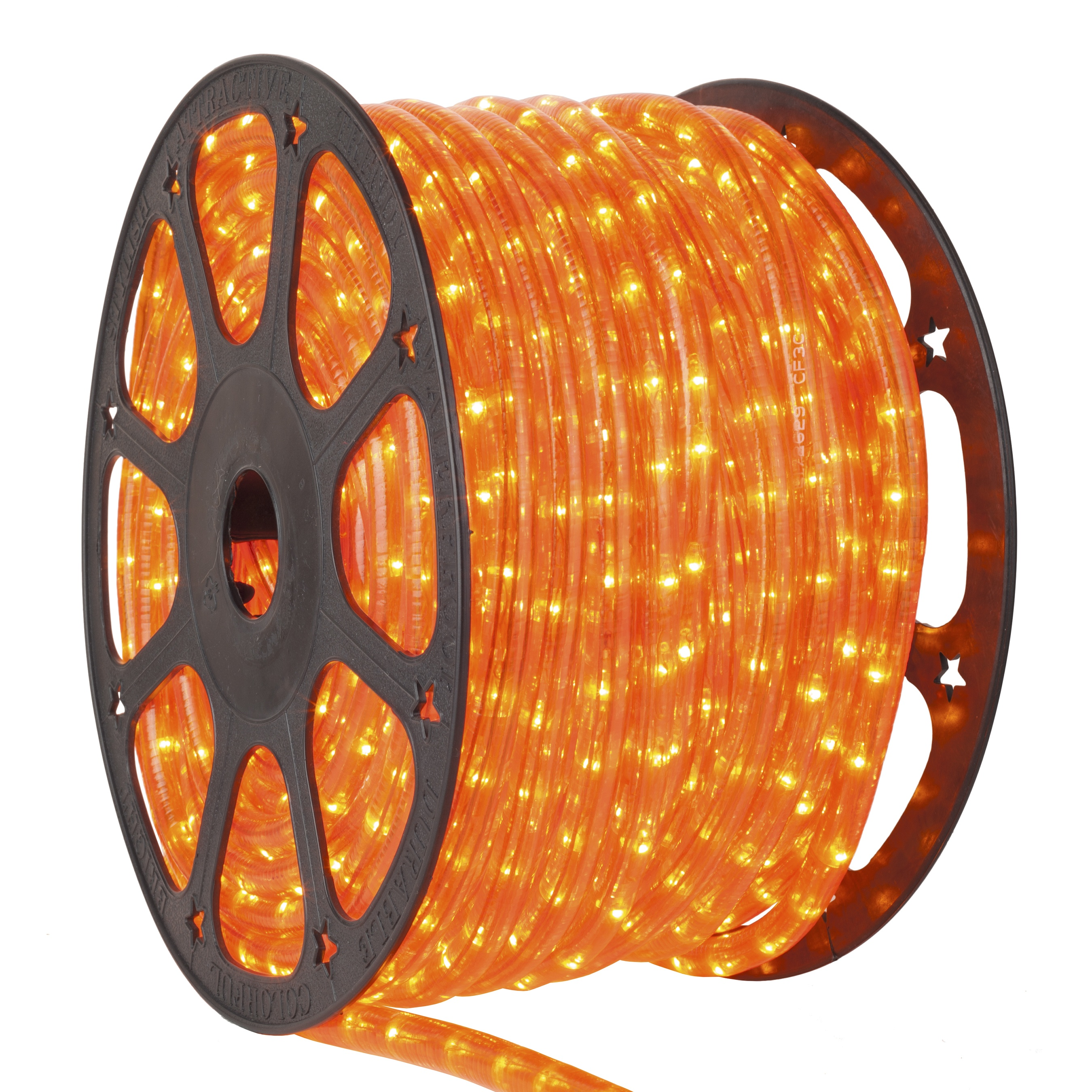 Orange Rope Light Spool