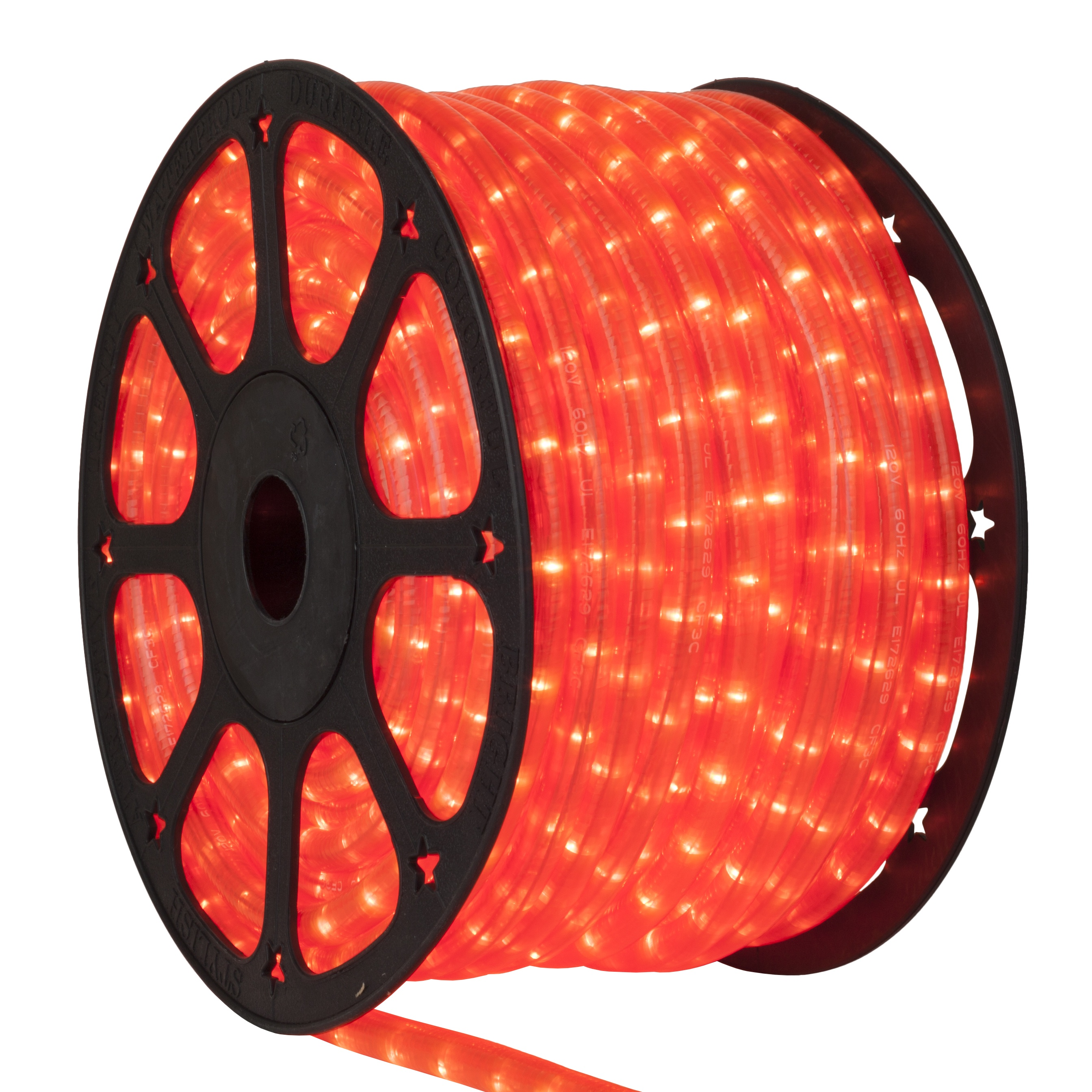 Fluorescent Pink Rope Light Spool