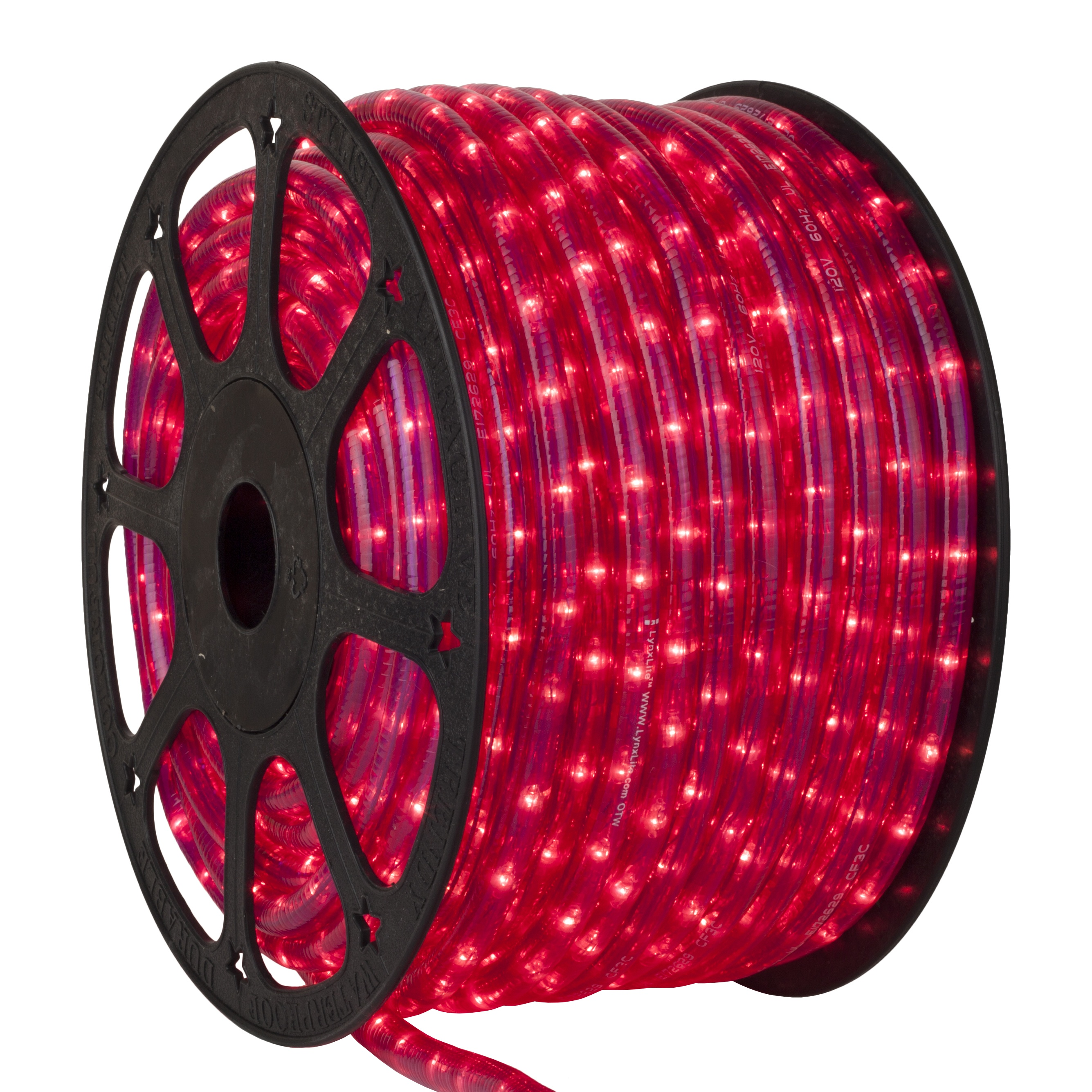 Pearl pink Rope Light Spool