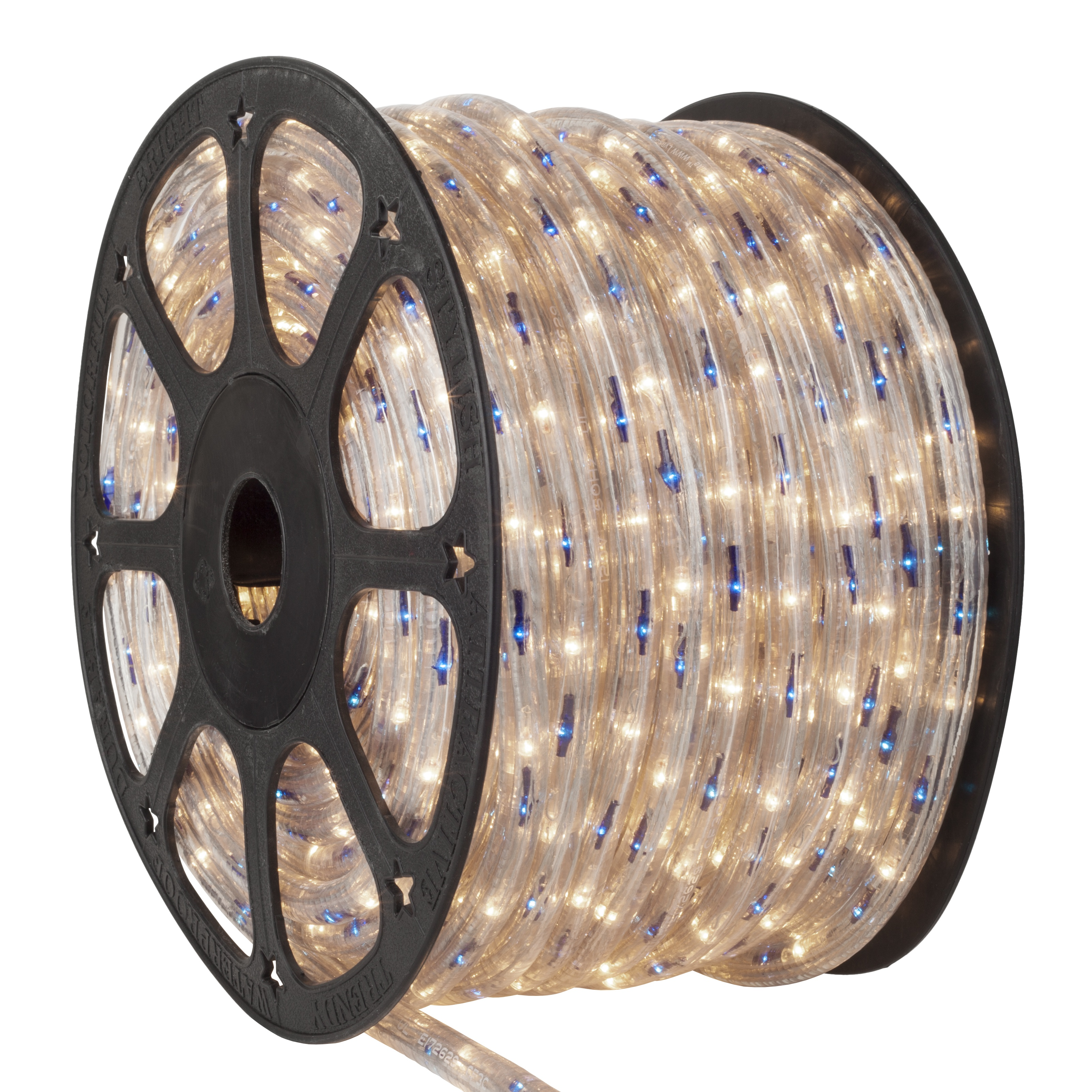 Blue Clear Rope Light Spool