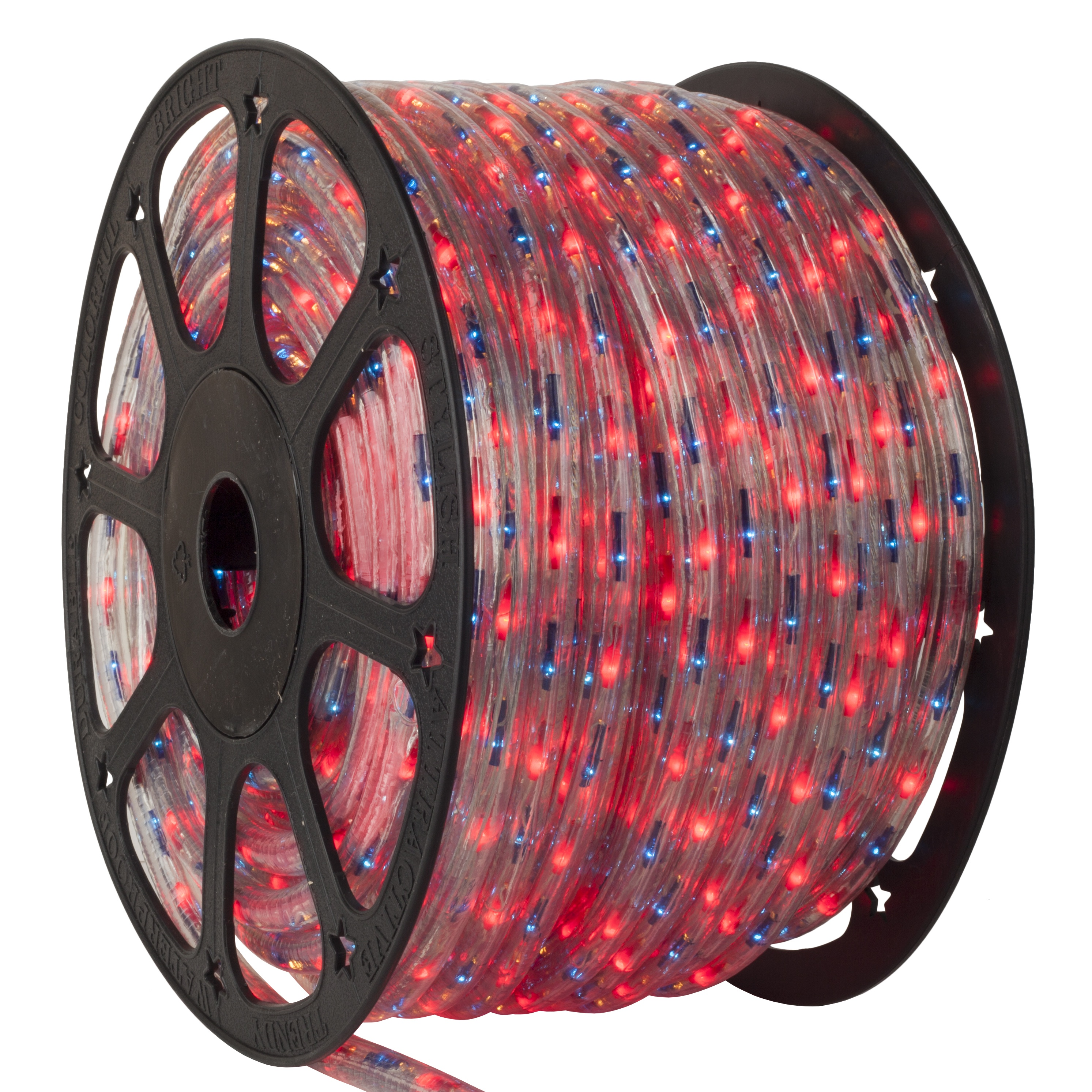 Red Blue Rope Light Spool