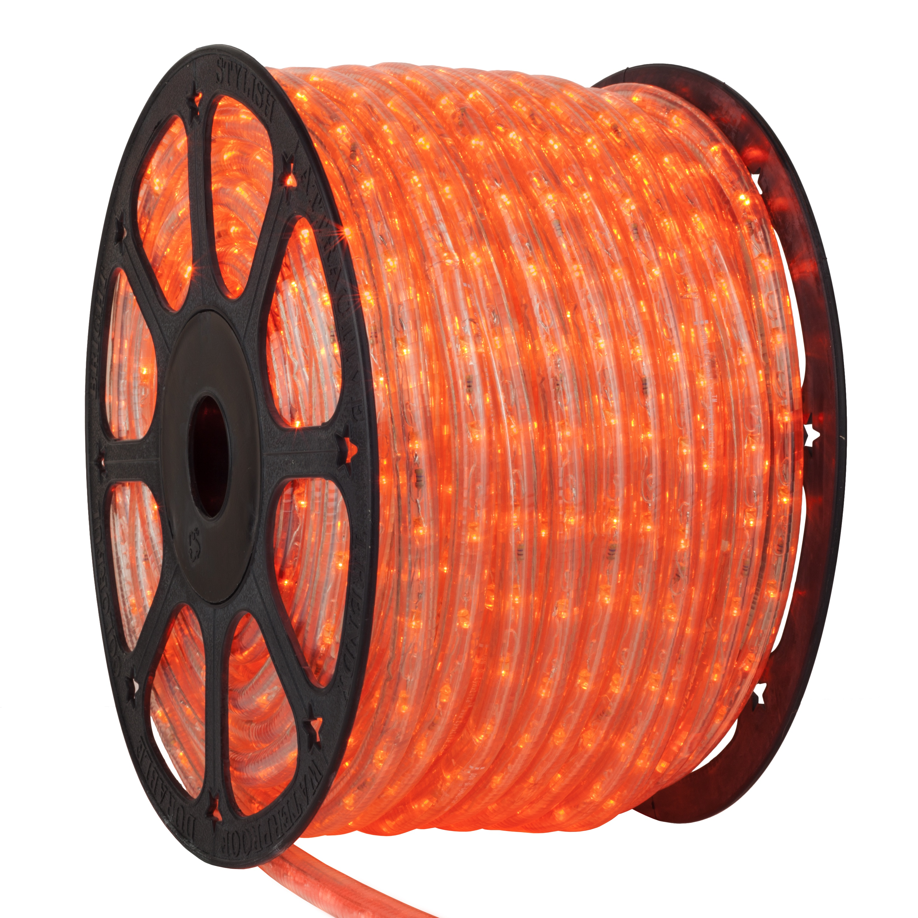 Orange LED Rope Light Spool