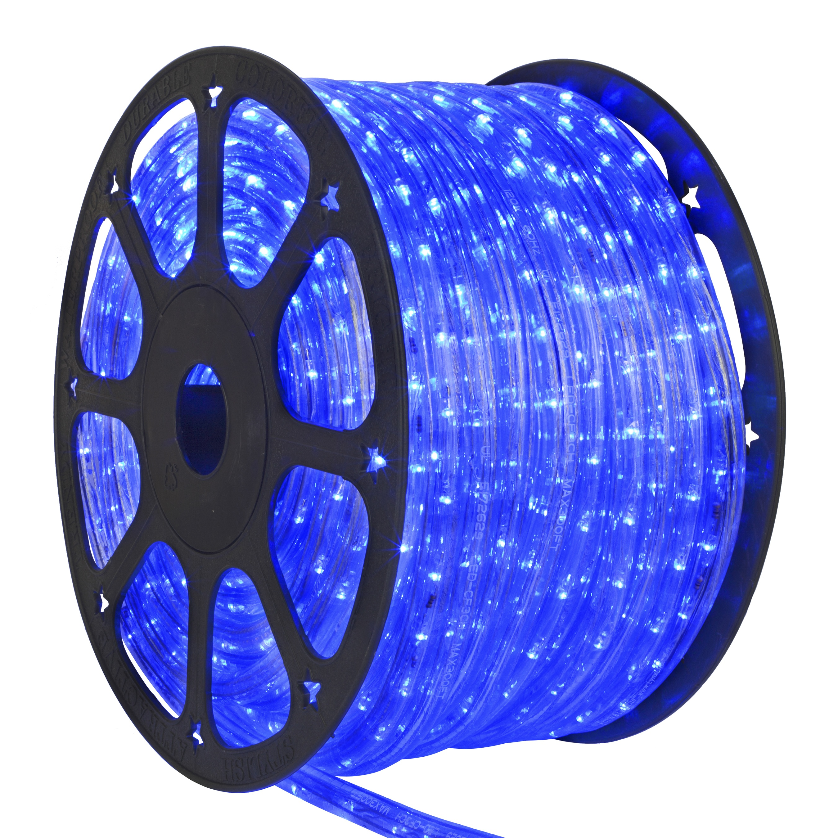 Blue LED Rope Light Spool