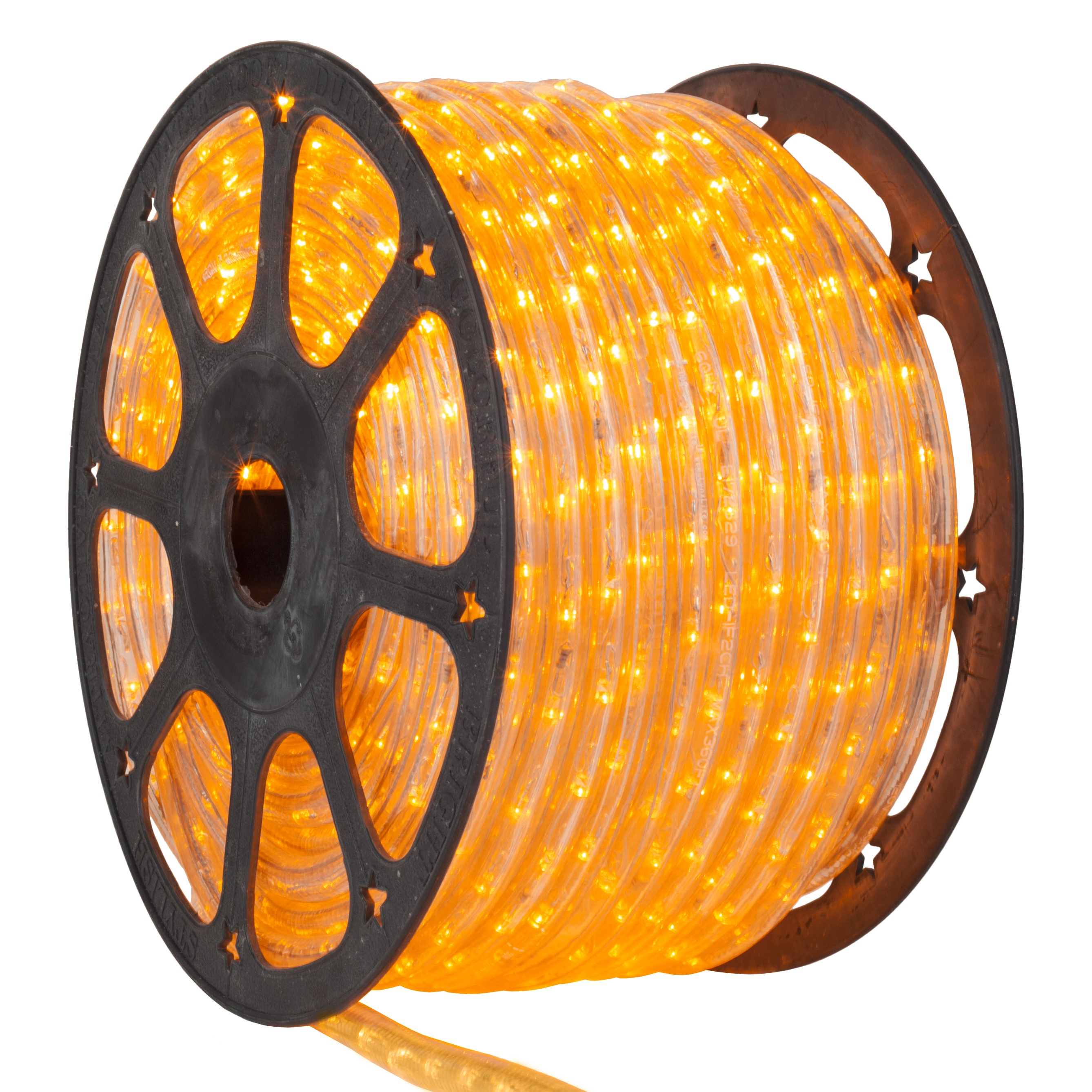 Yellow LED Rope Light Spool