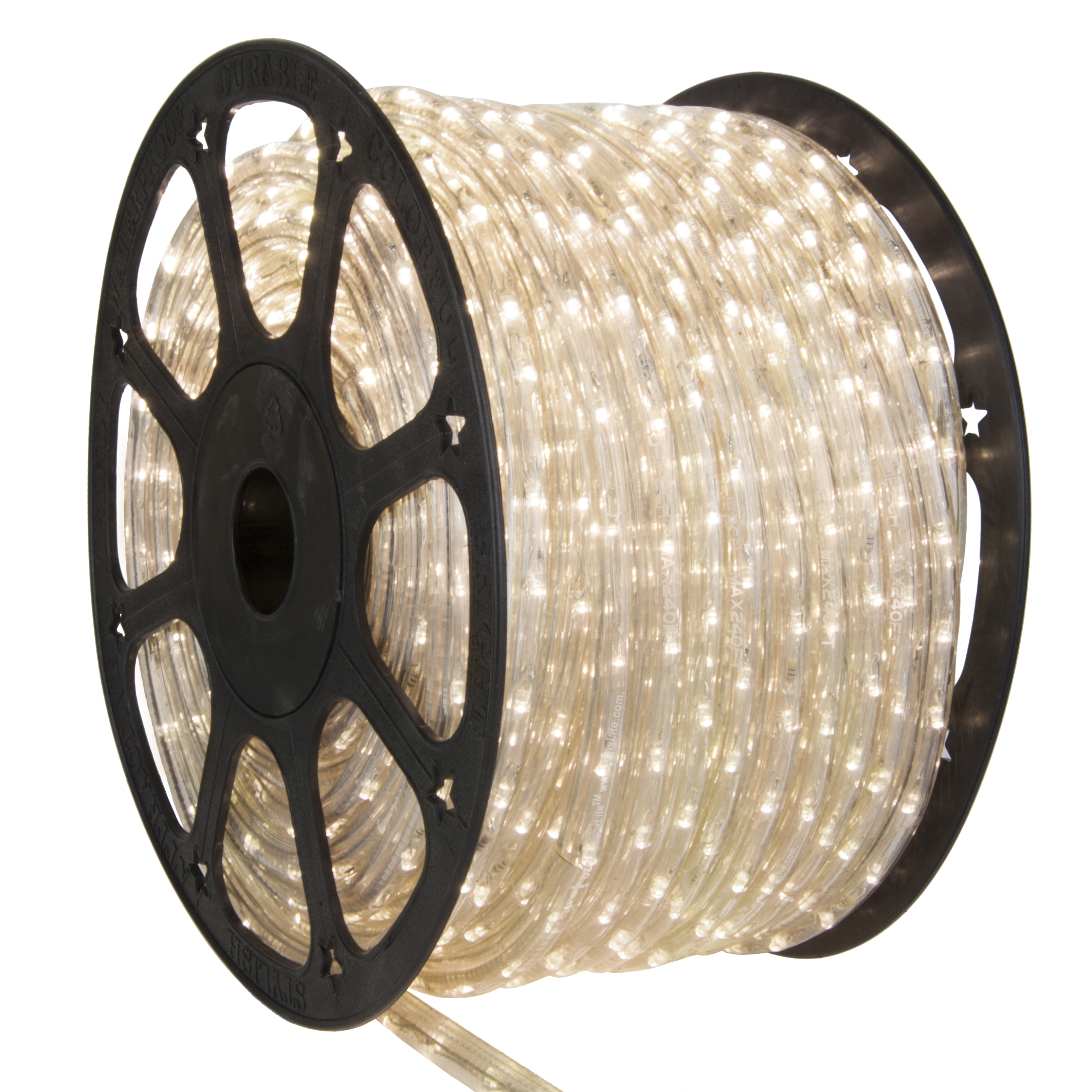 Warm White LED Rope Light Spool