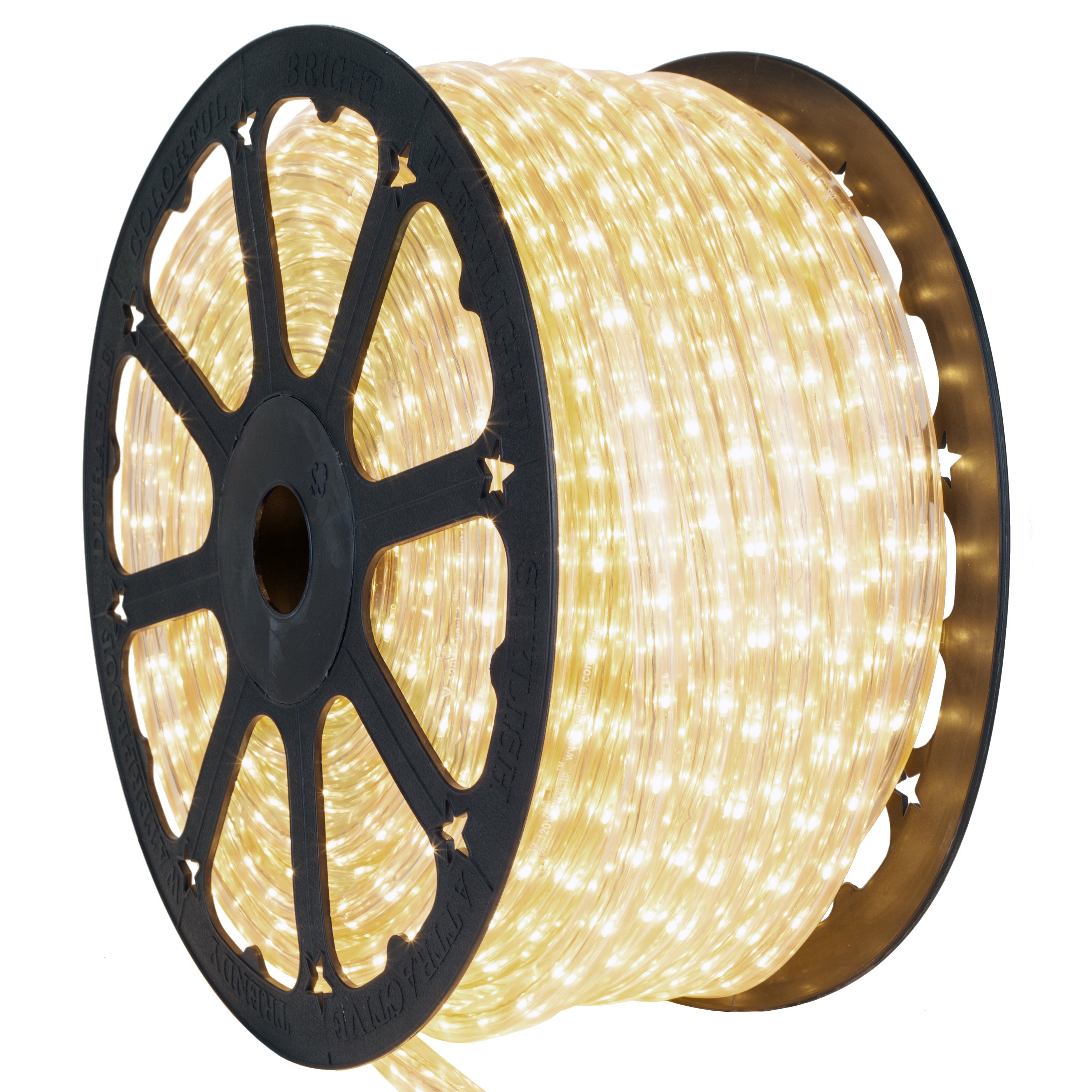 Clear Square Rope Light Spool