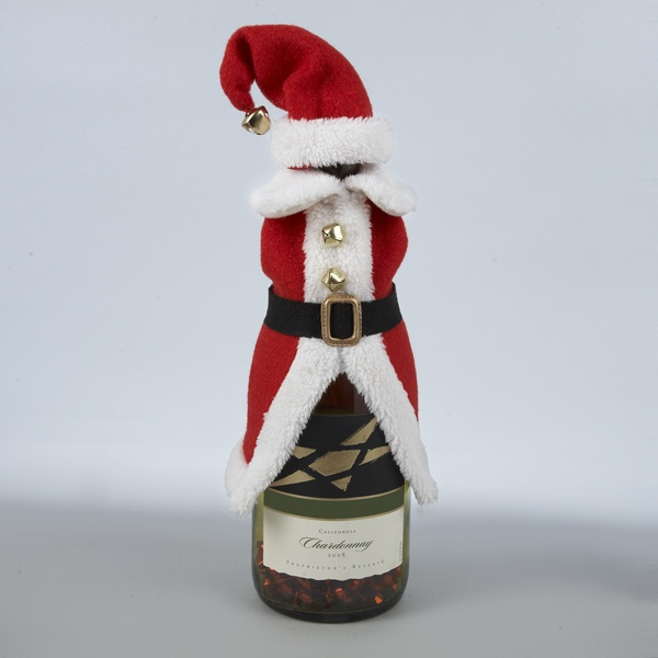 Santa Bottle Wine Cover
