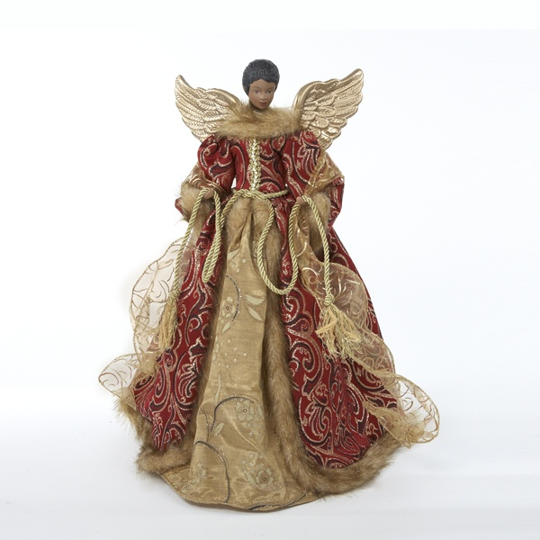 African American Angel Tree Topper