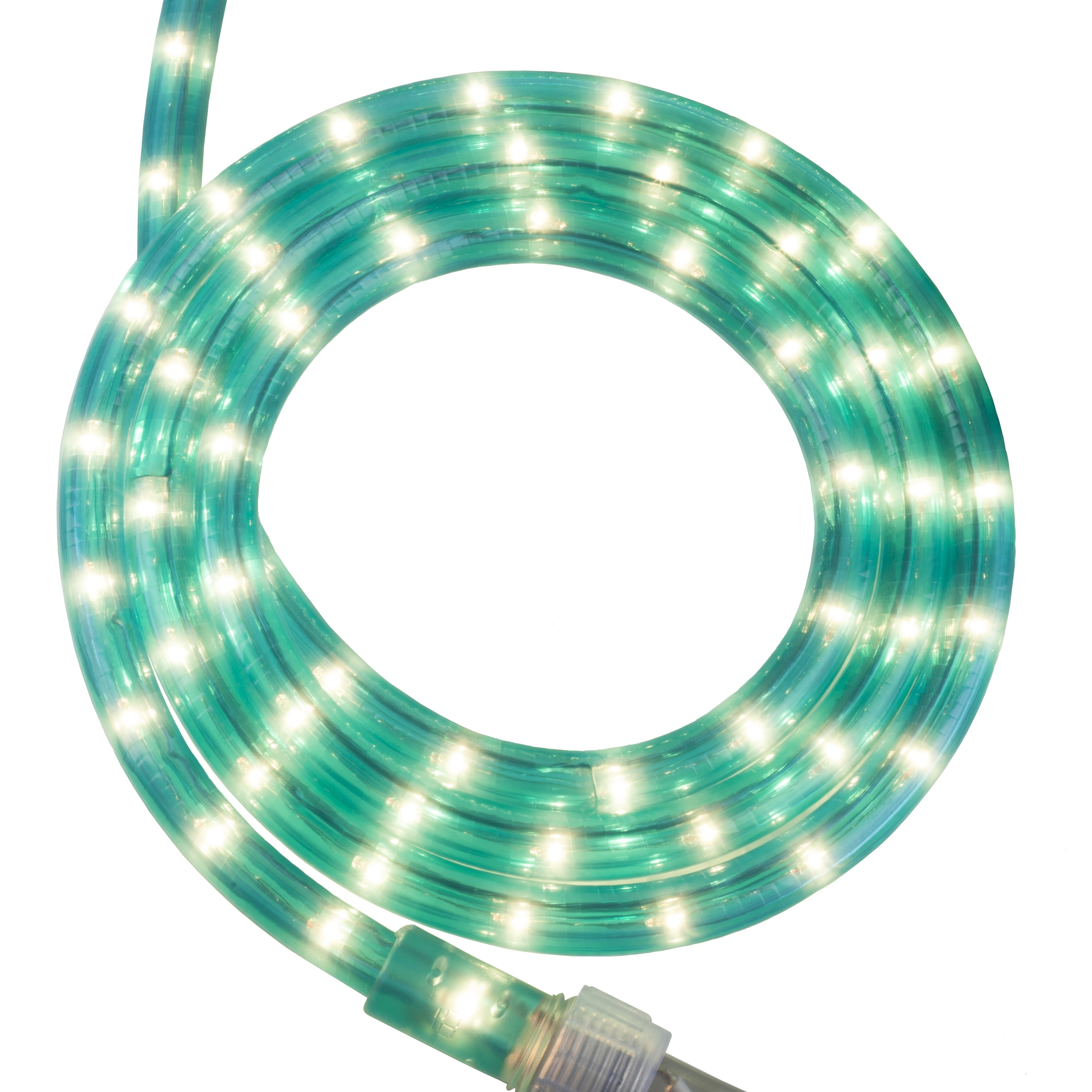 Aqua Blue Rope Light Kit