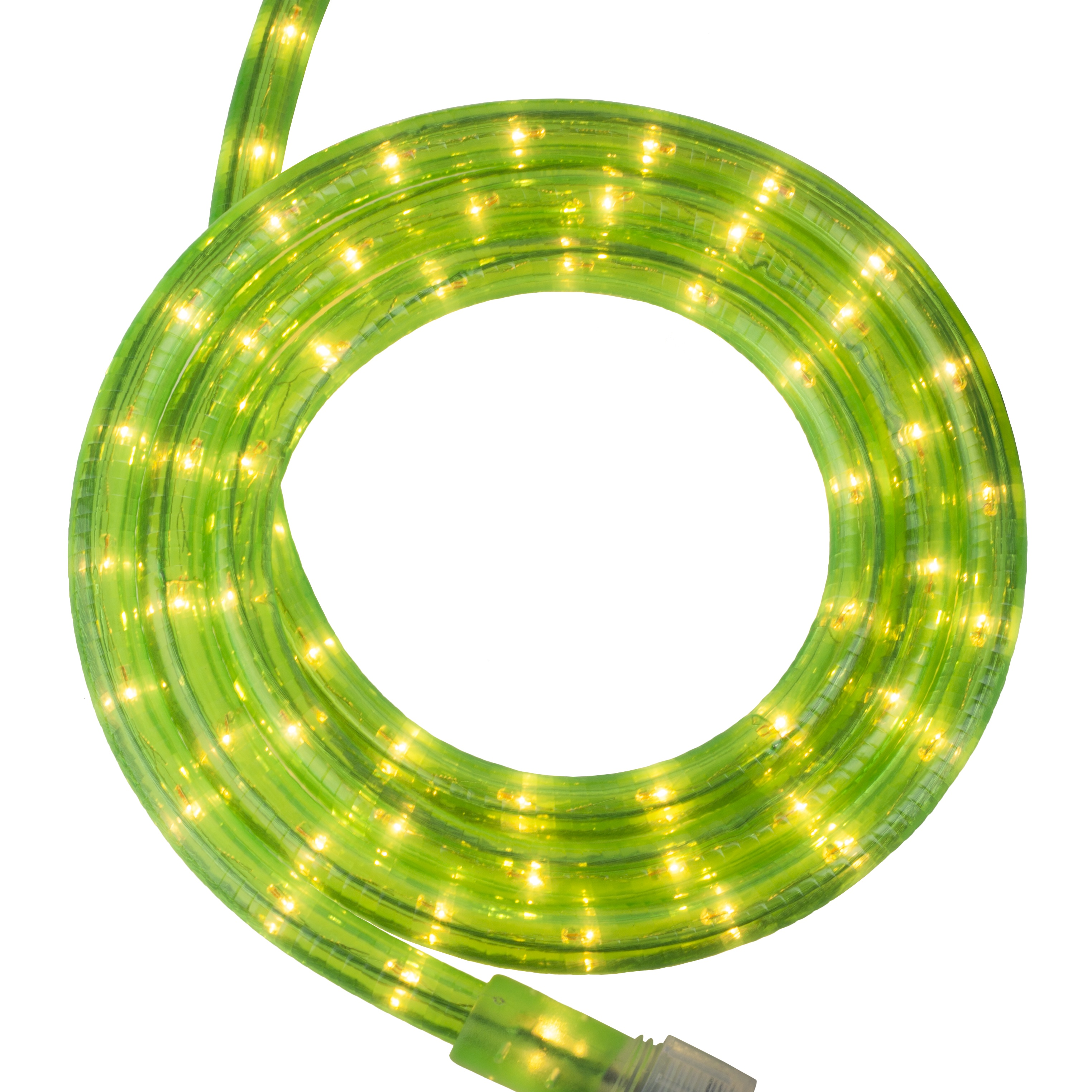 Fluorescent Green Rope Light Kit