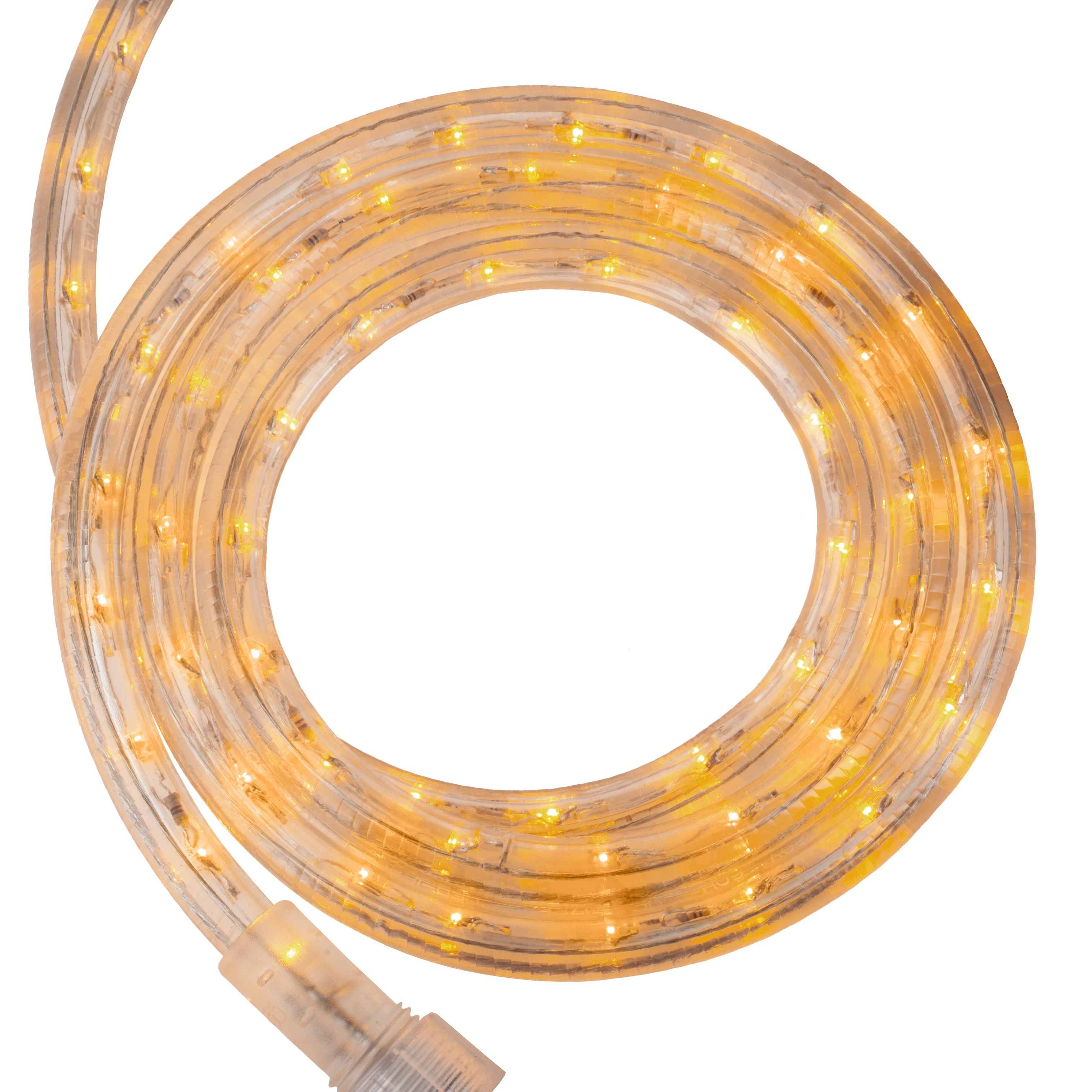 Yellow LED Rope Light Kit