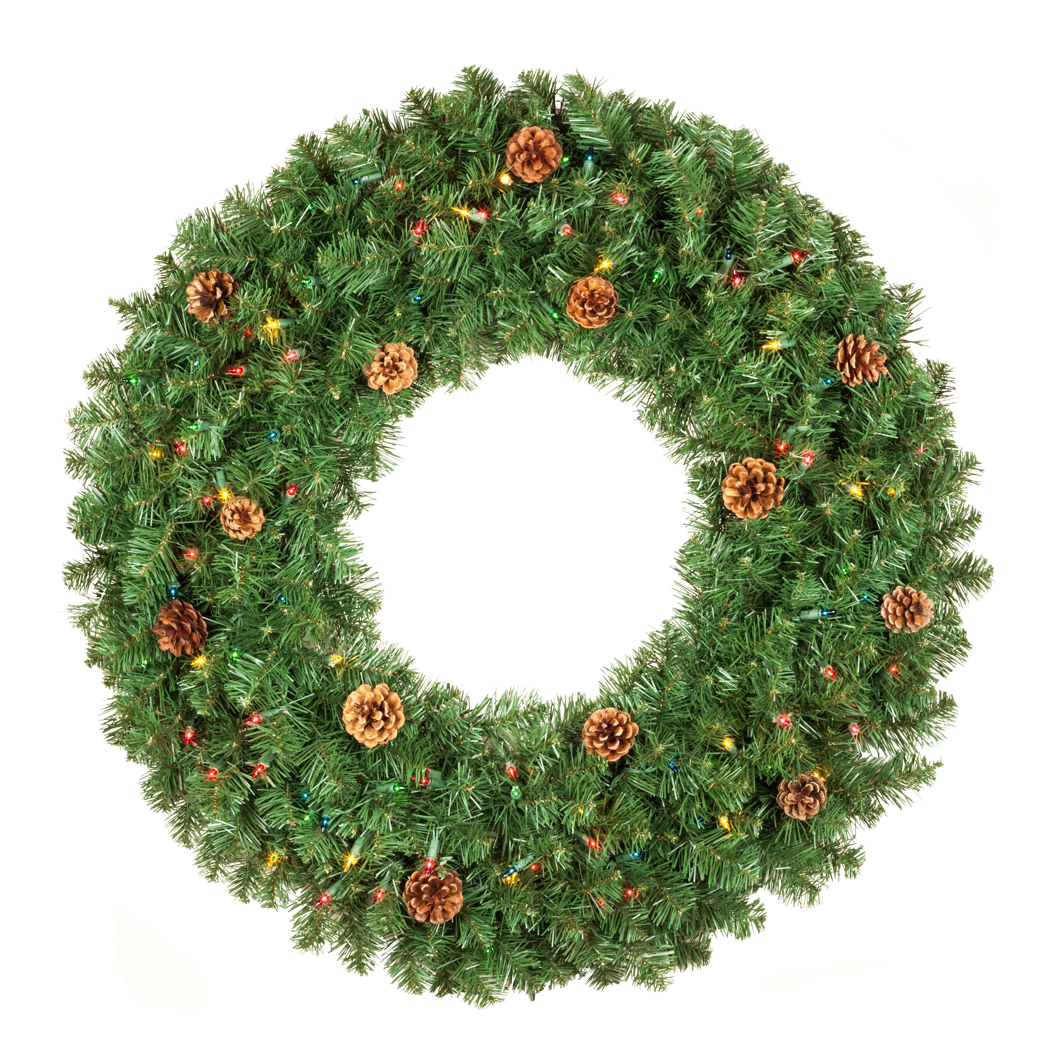 Winchester Fir Multicolored Wreath