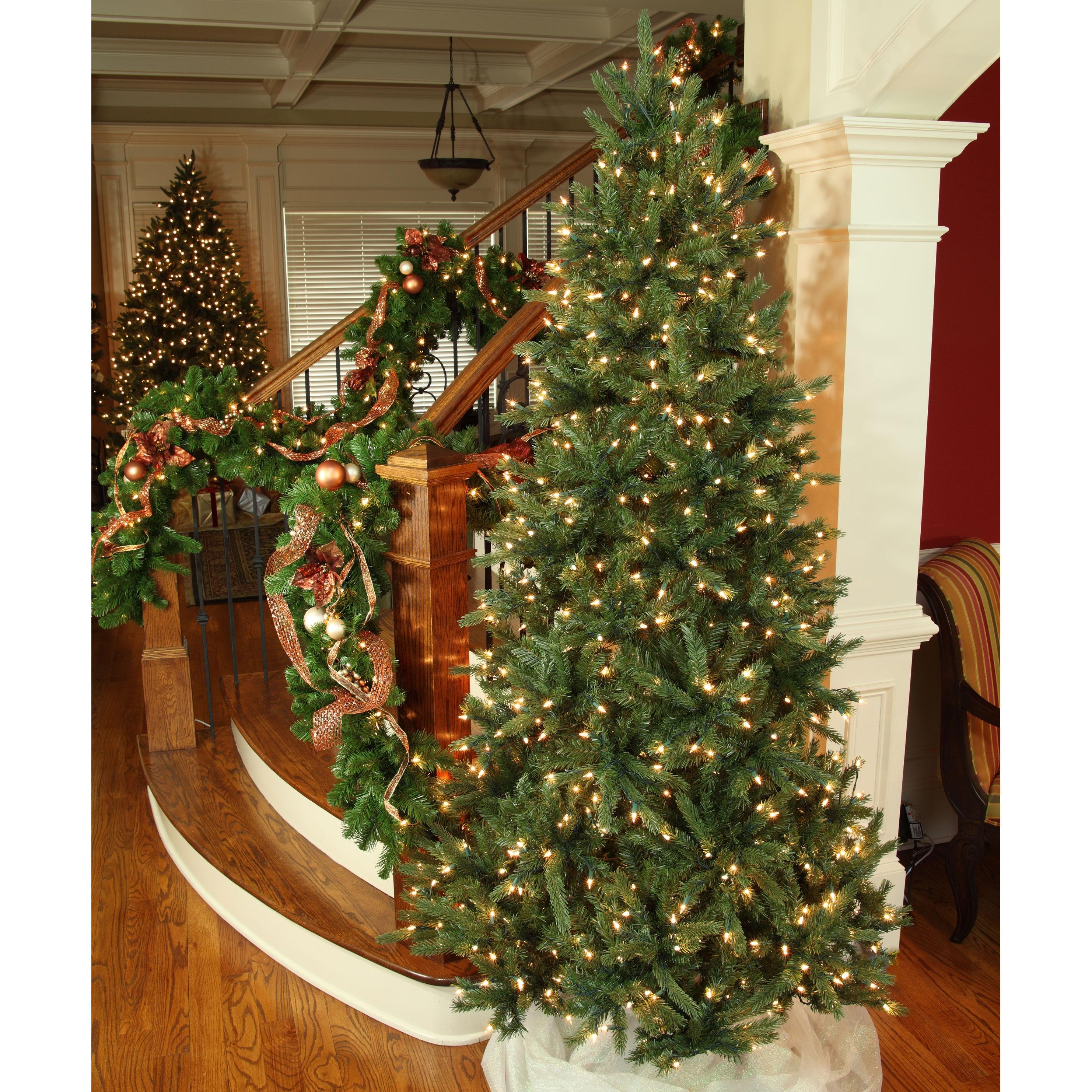 Balsam Fir Prelit Tree - Christmas Lights, Etc