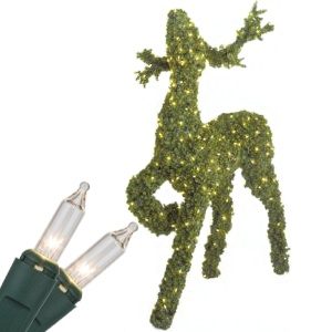 Topiary Reindeer Head Up Decoration