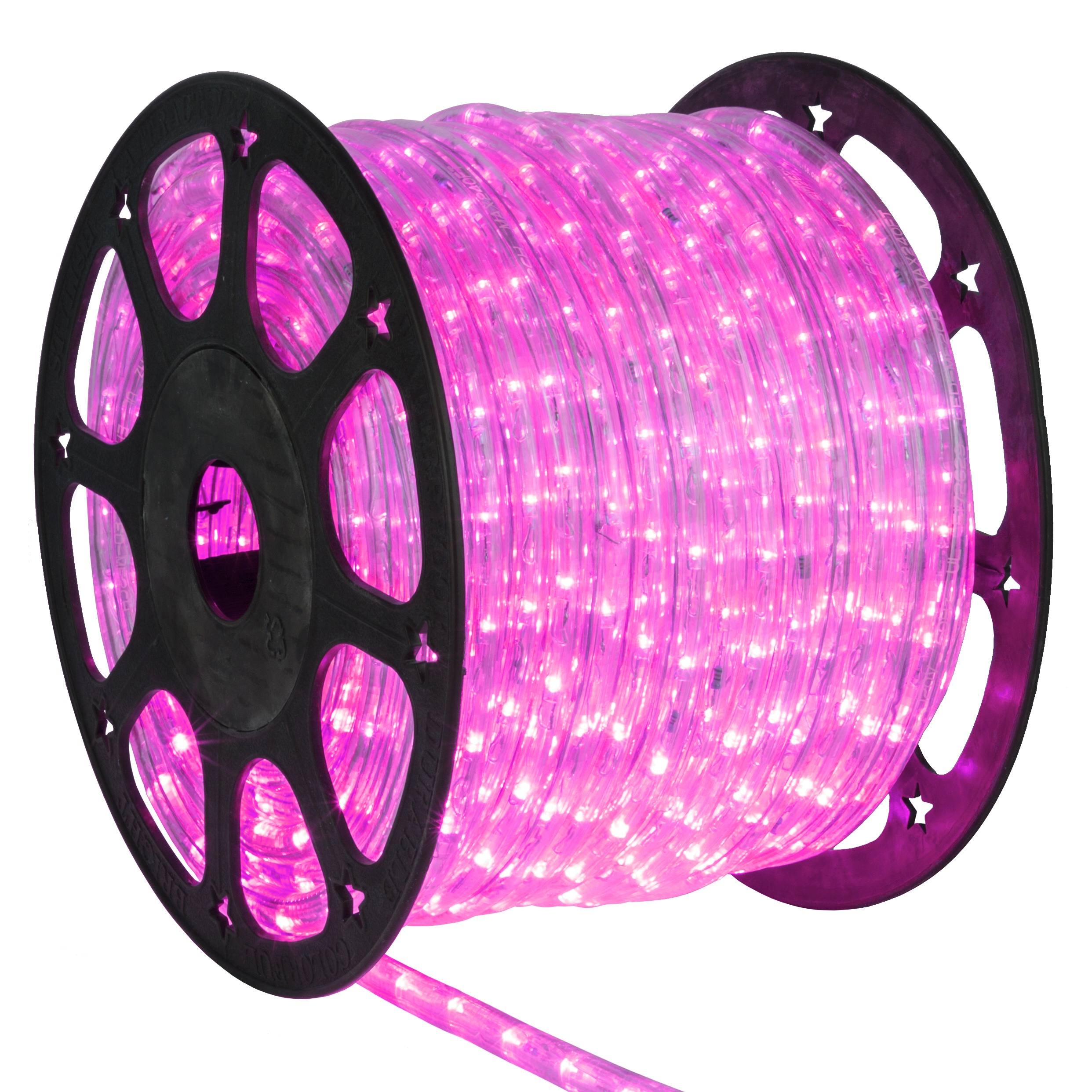 led rope lights 150 39 pink led rope light commercial. Black Bedroom Furniture Sets. Home Design Ideas