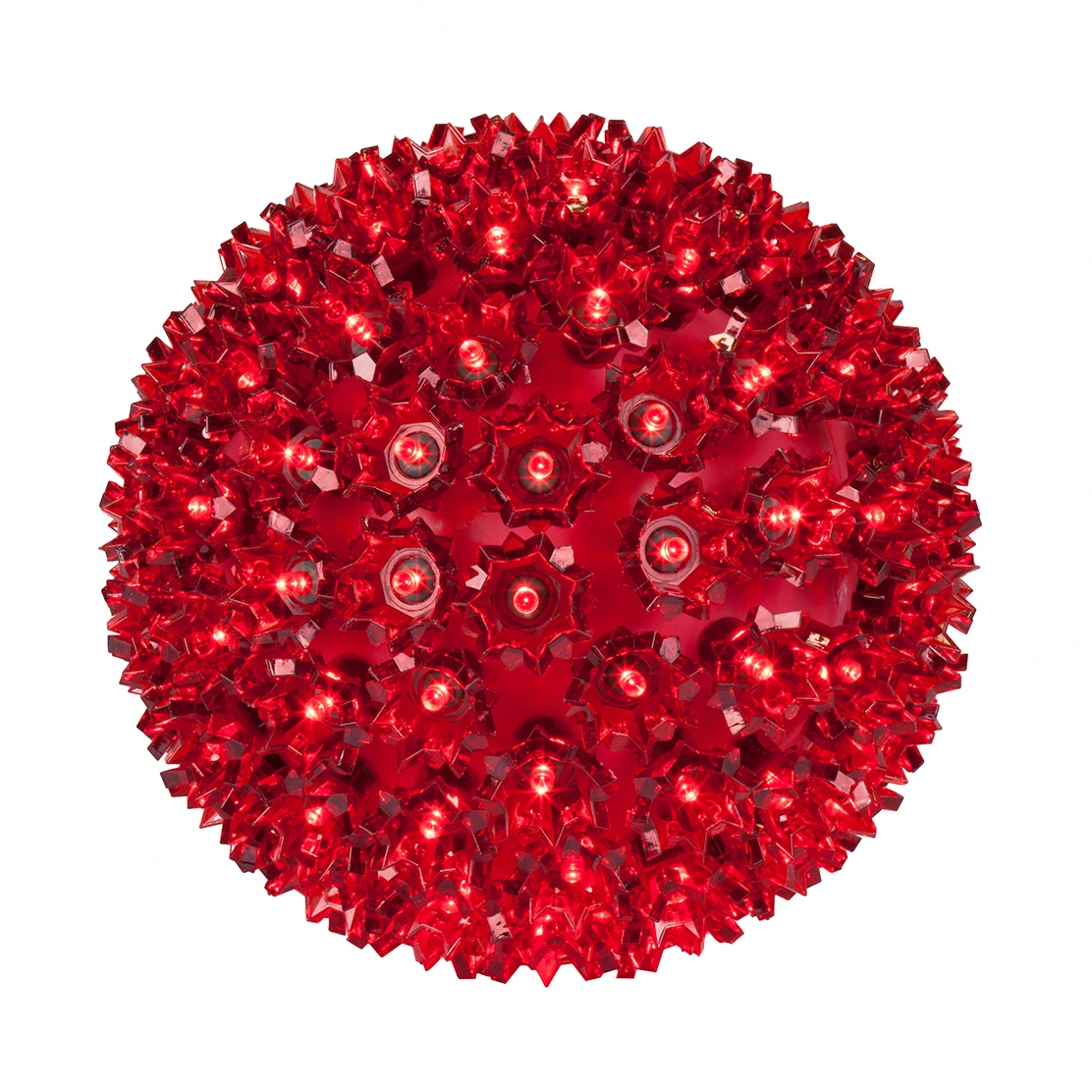 Red LED Starlight Sphere