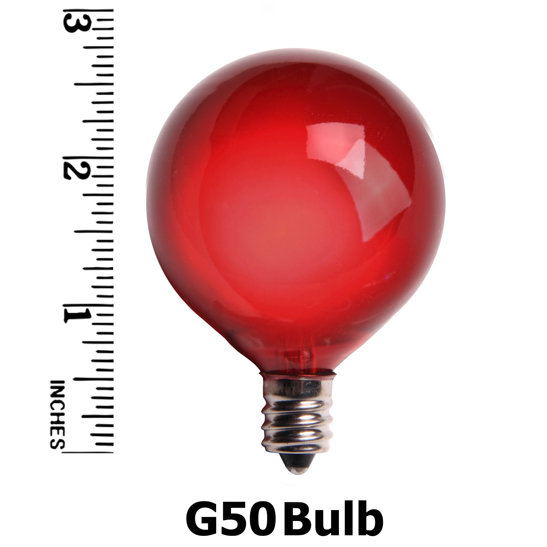 G50 E12 Bulb Measurement