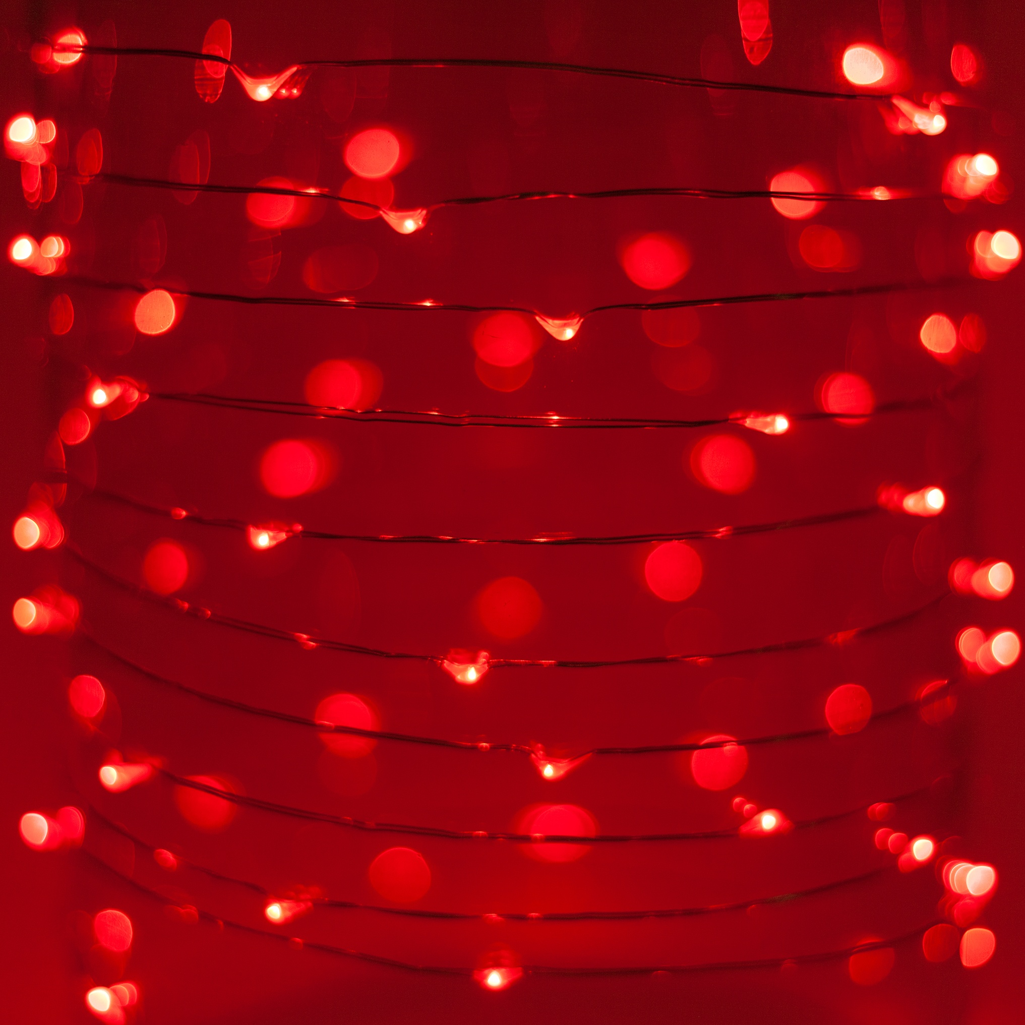 Red Fairy Lights