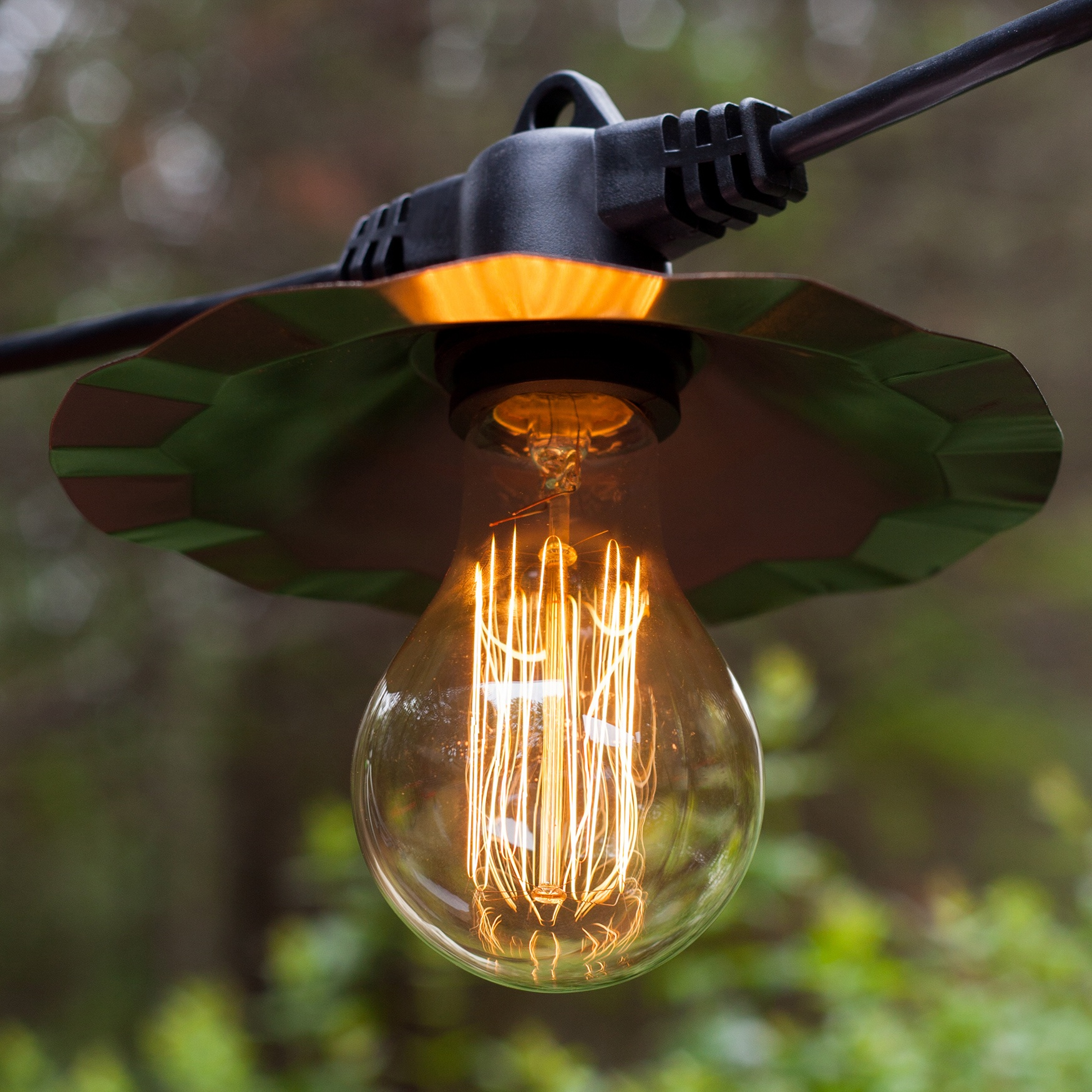 Commercial Clear Patio String Lights, 7 A75