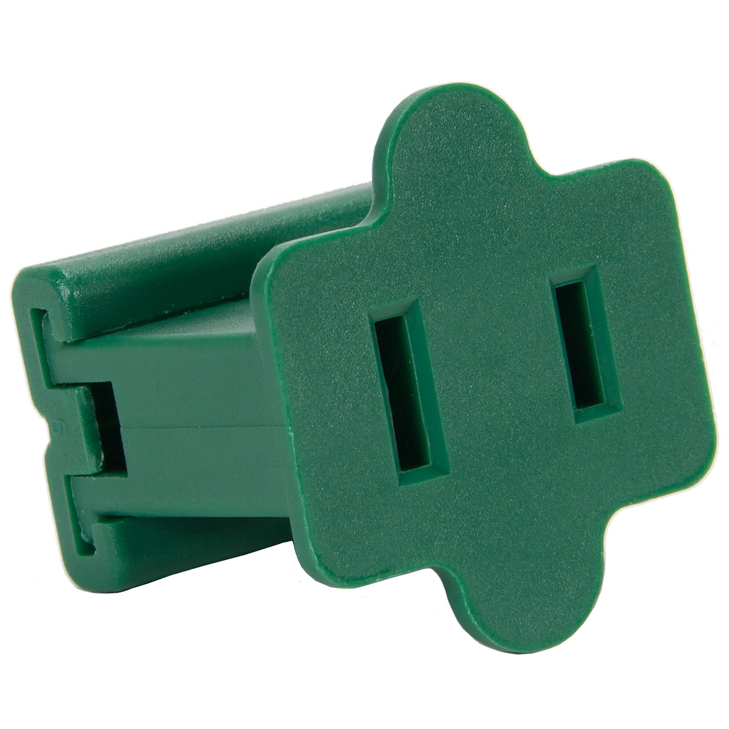 Green Female Zip Plug