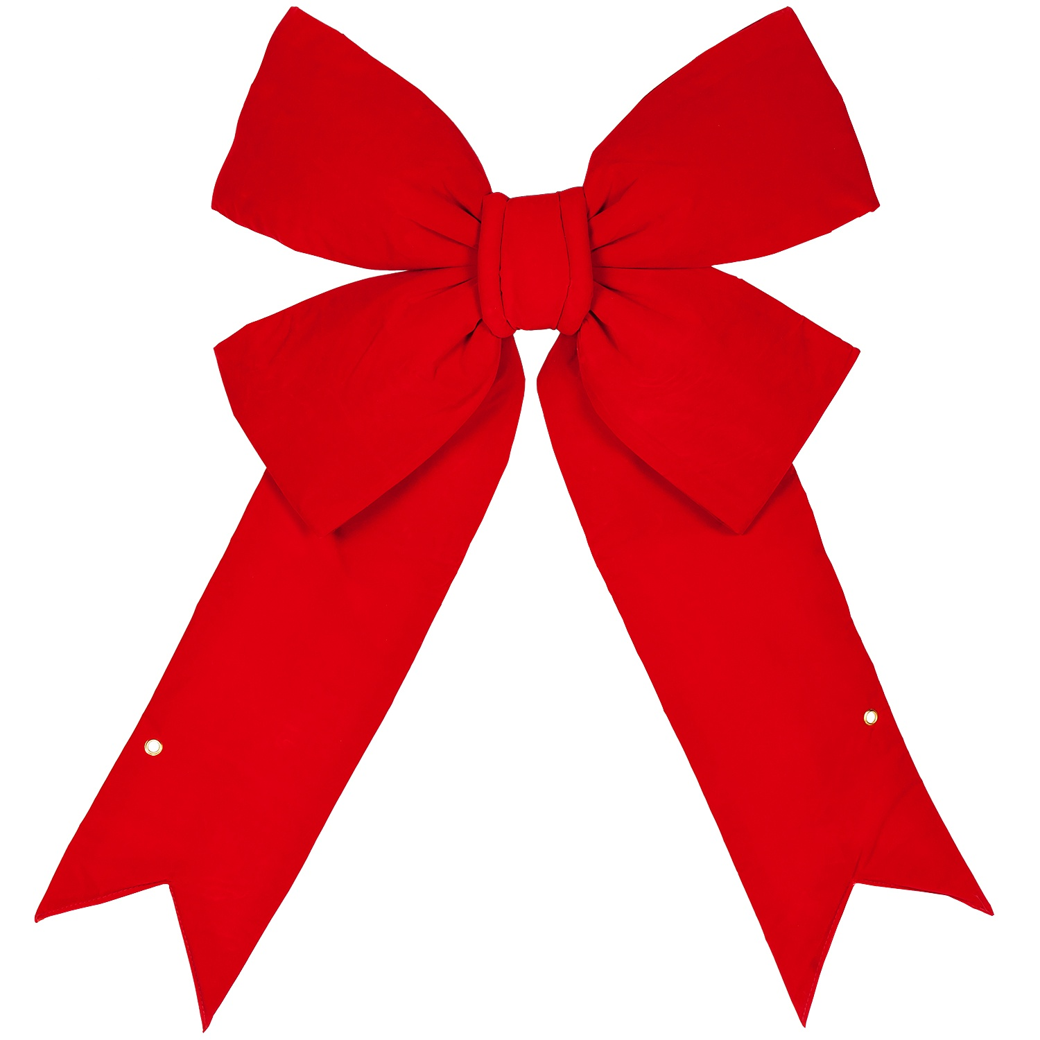 Large Outdoor Imperial Red Bow