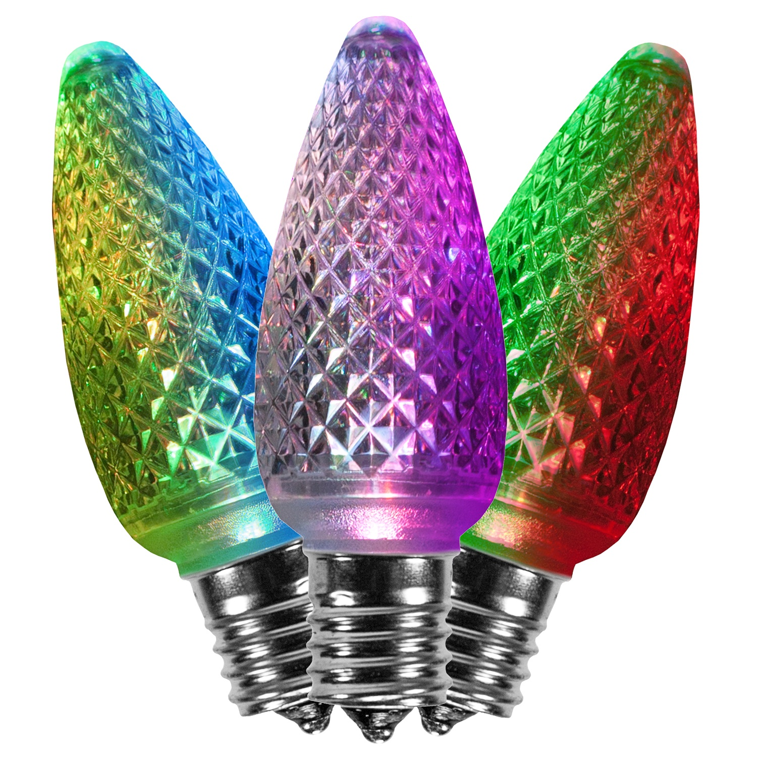 C9 Color Changing Multicolor Morphing Bulbs