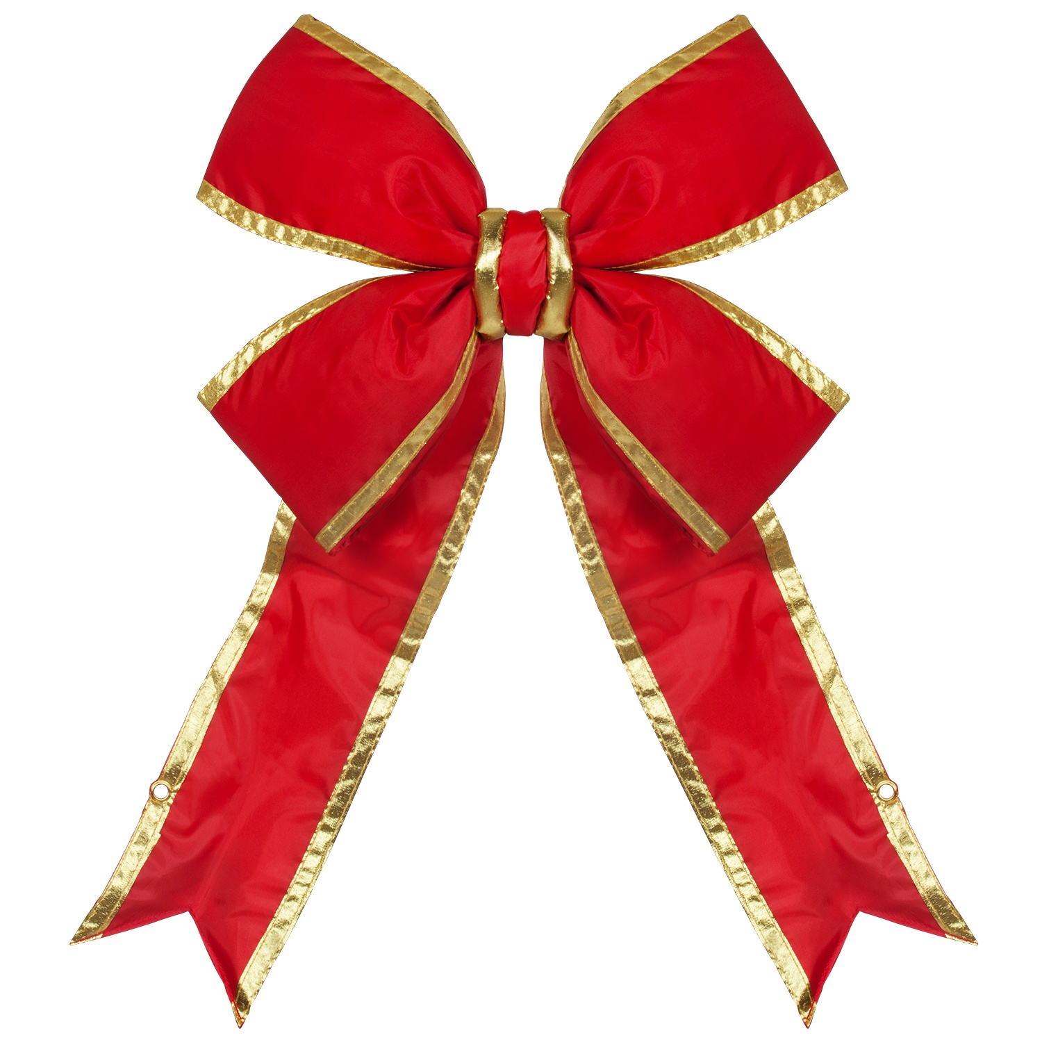 Nylon Red with Gold Trim Bow