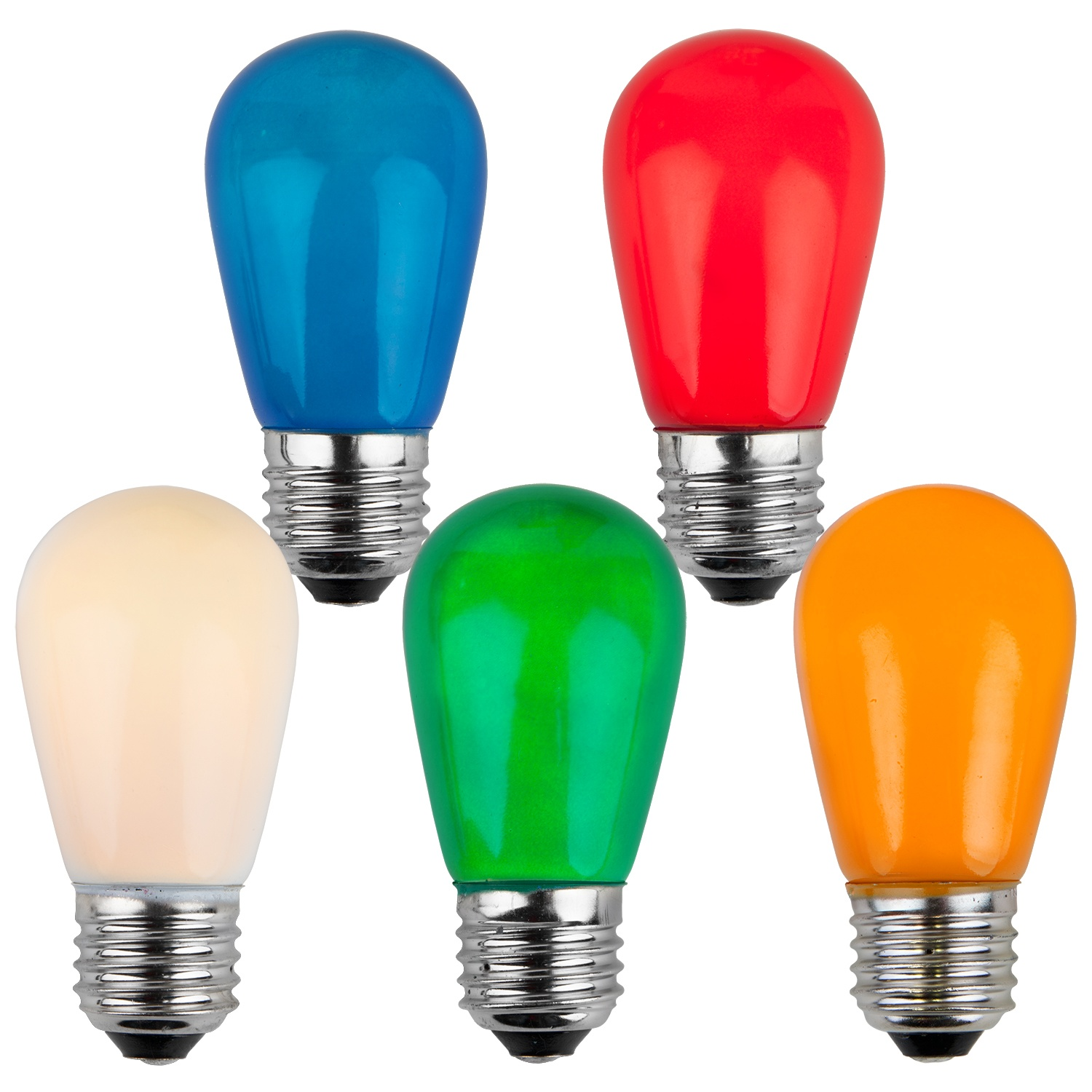 Multi Pack of Incandescent Opaque Bulbs