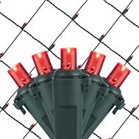 led net lights 5mm 4 39 x6 39 red led net lights green wire. Black Bedroom Furniture Sets. Home Design Ideas