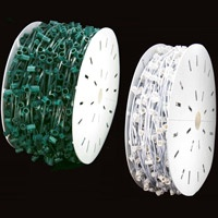 C9 Commercial Christmas Light Spools - 1000 Feet - We have one of the largest selections of c9 commercial spools on the internet.