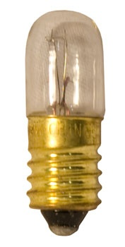 T3 Transparent Clear, 3 Watt Replacement Bulbs