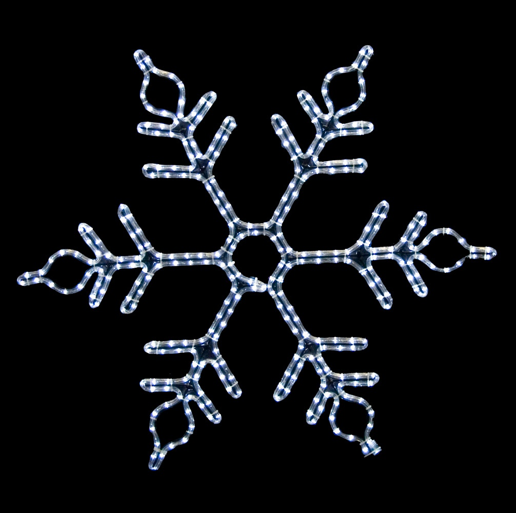 36'' LED Lighted Snowflake
