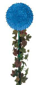 "7.5"" Mini Starlight Stake, 100 Blue Lamps"
