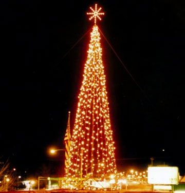 30' Ice-Lite Tree of Lights