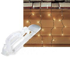 Christmas Lights Wall Clips : Christmas Light Clips & Hangers