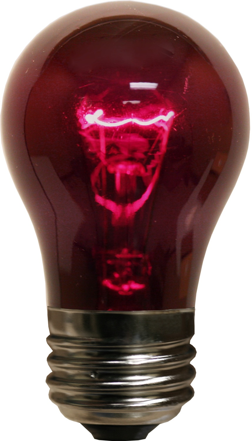 A15 Transparent Purple, 15 Watt Replacement Bulbs