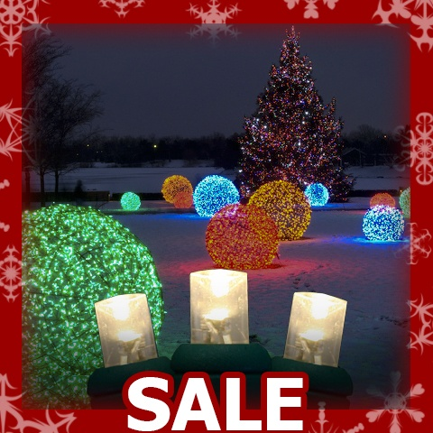 Led lights for sale for Large outdoor christmas decorations for sale