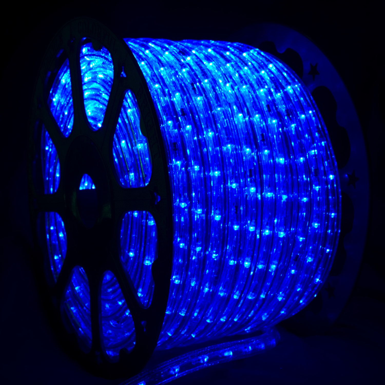 blue led rope light. Black Bedroom Furniture Sets. Home Design Ideas