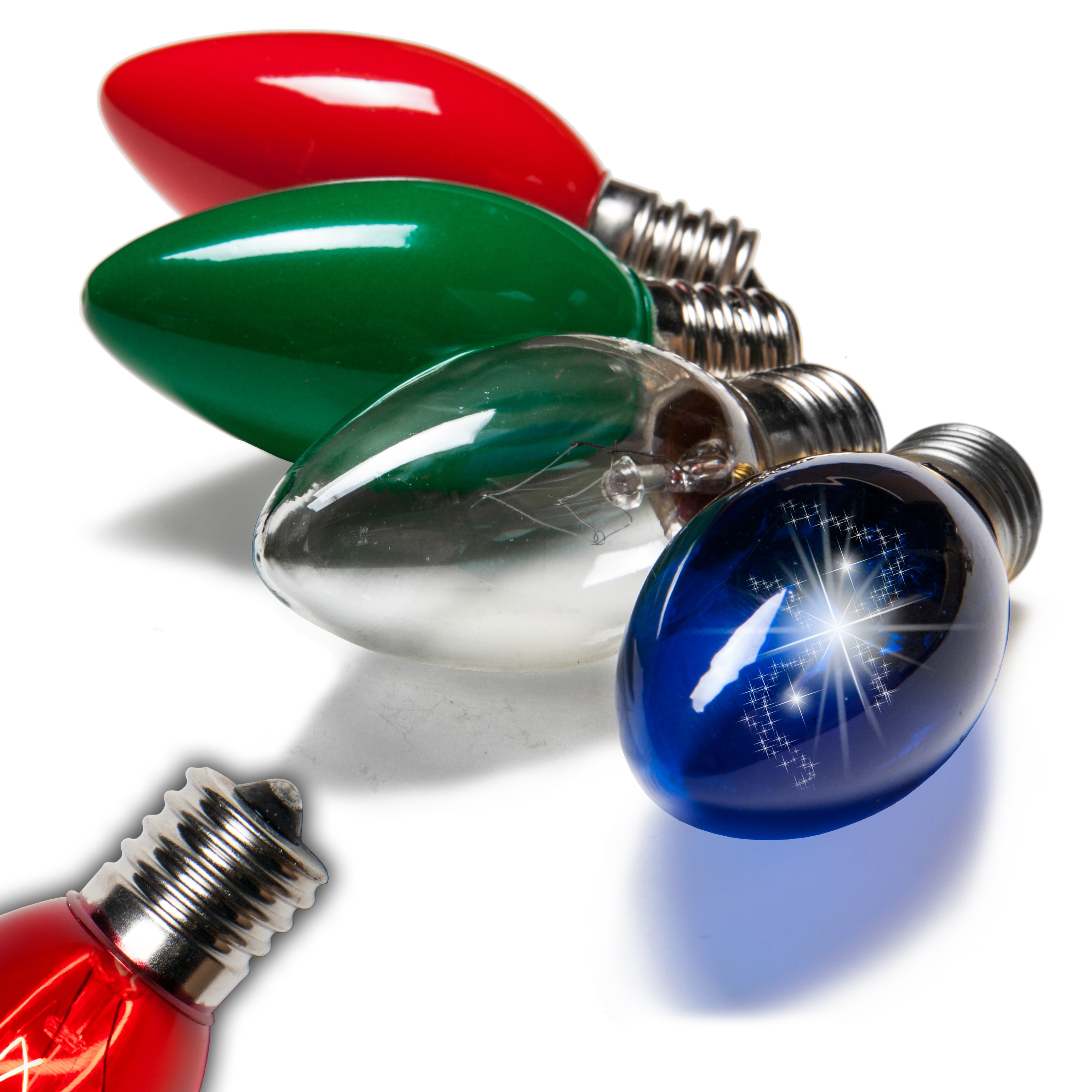 Red And White Led Christmas Lights C9
