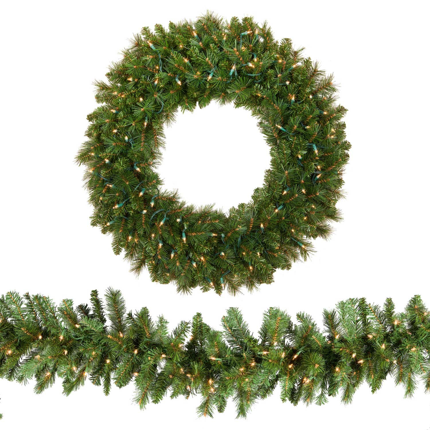 christmas wreaths and garland - Christmas Greenery Wholesale