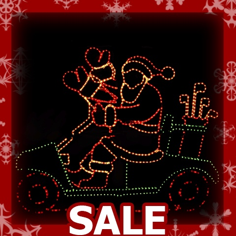 Outdoor christmas decorations sale for Large outdoor christmas decorations for sale